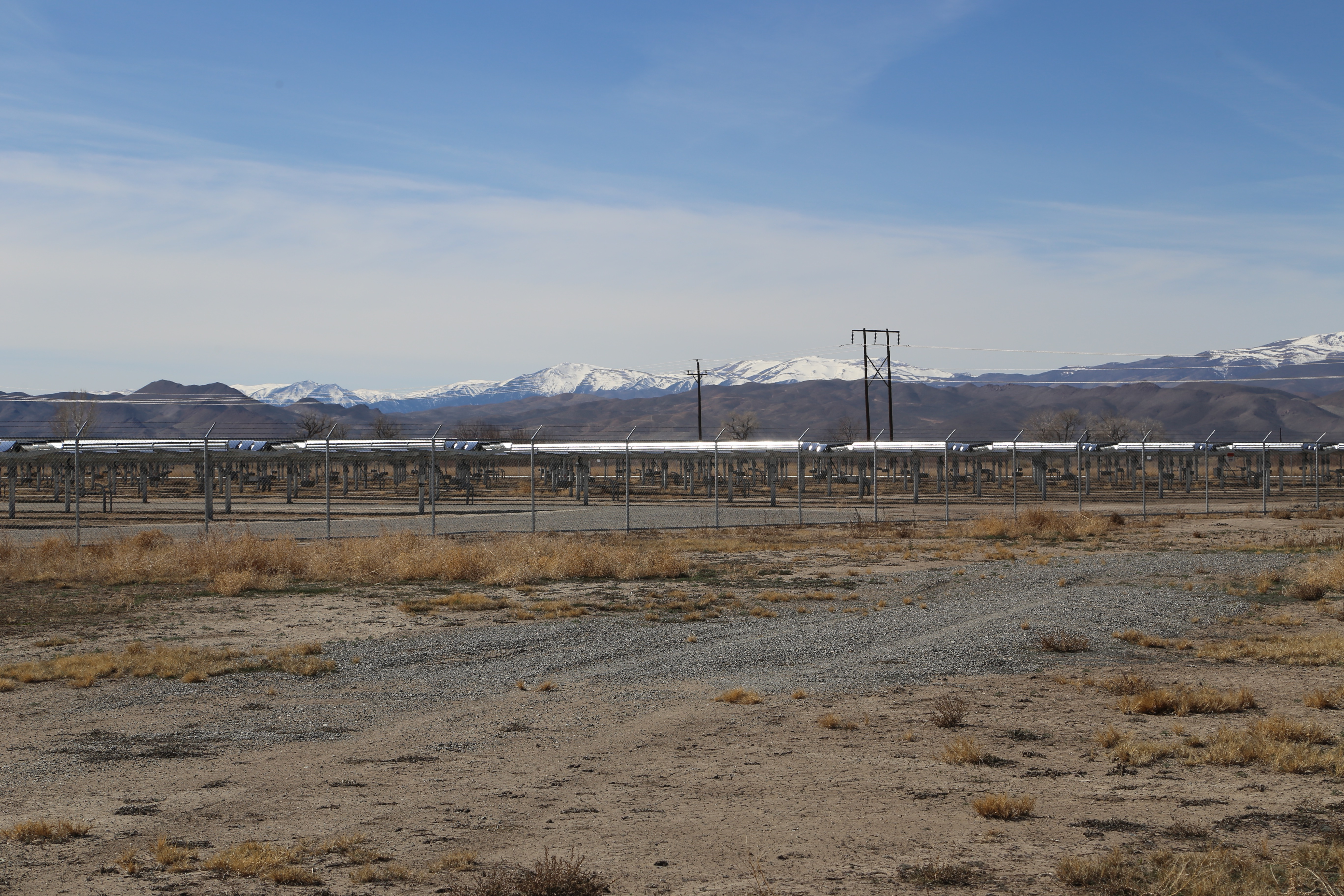 Apple's solar farm in Yerington, Nevada.