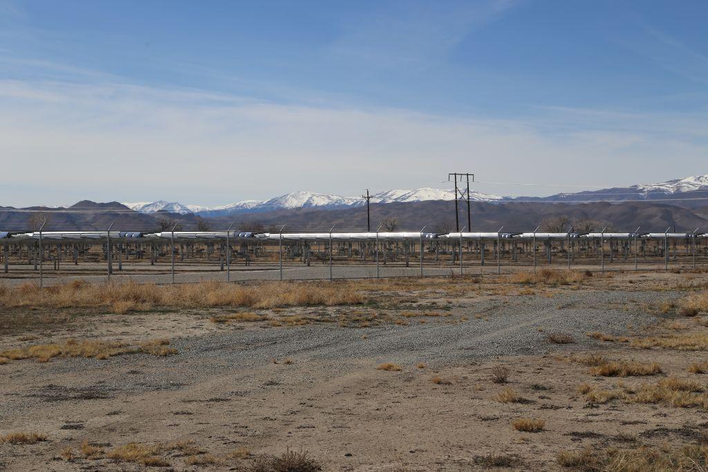 Apple's solar farm in Yerington, Nevada.