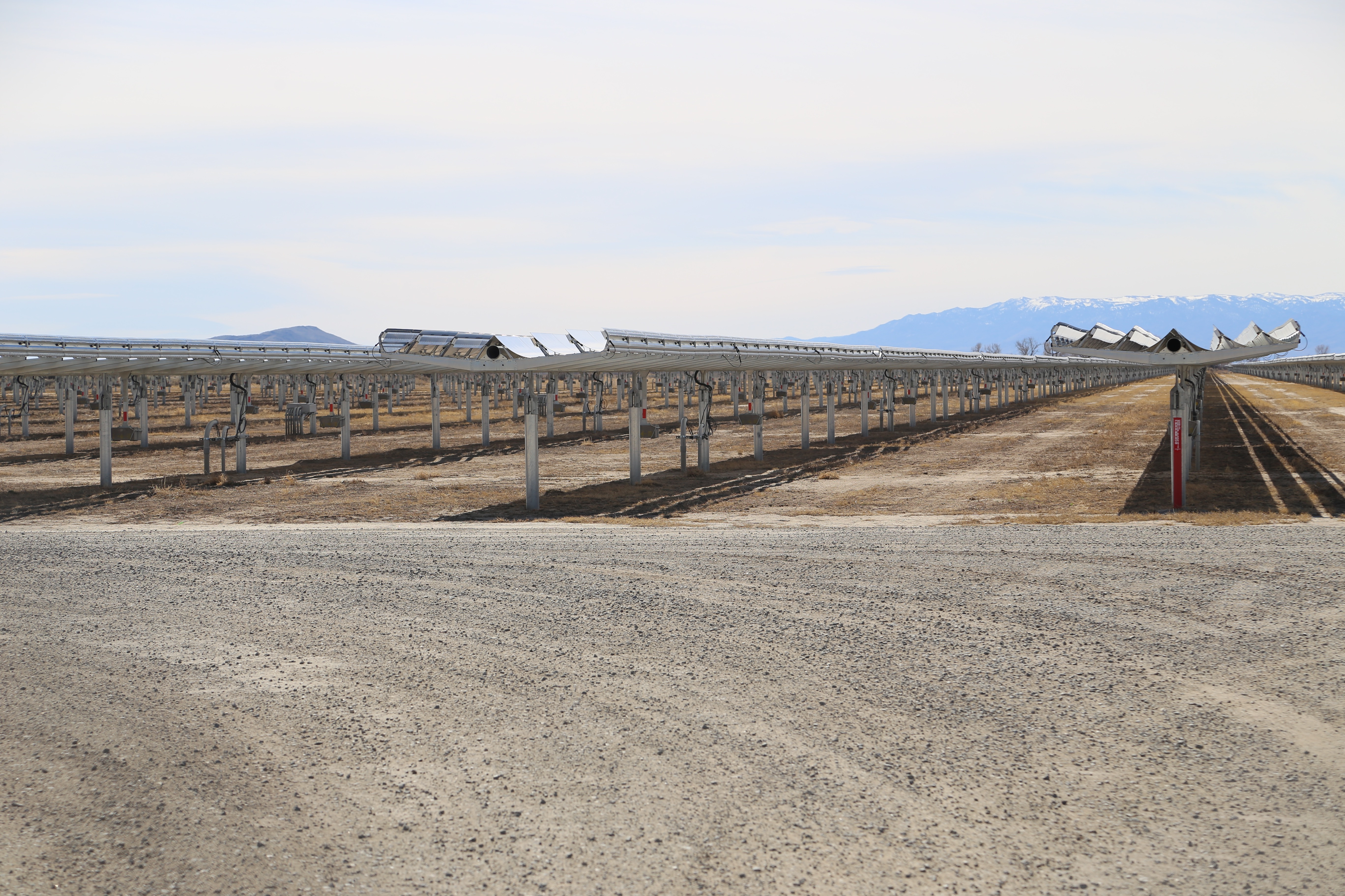 Apple's Fort Churchill solar farm in Yerington, Nev. became fully operational a few months ago.