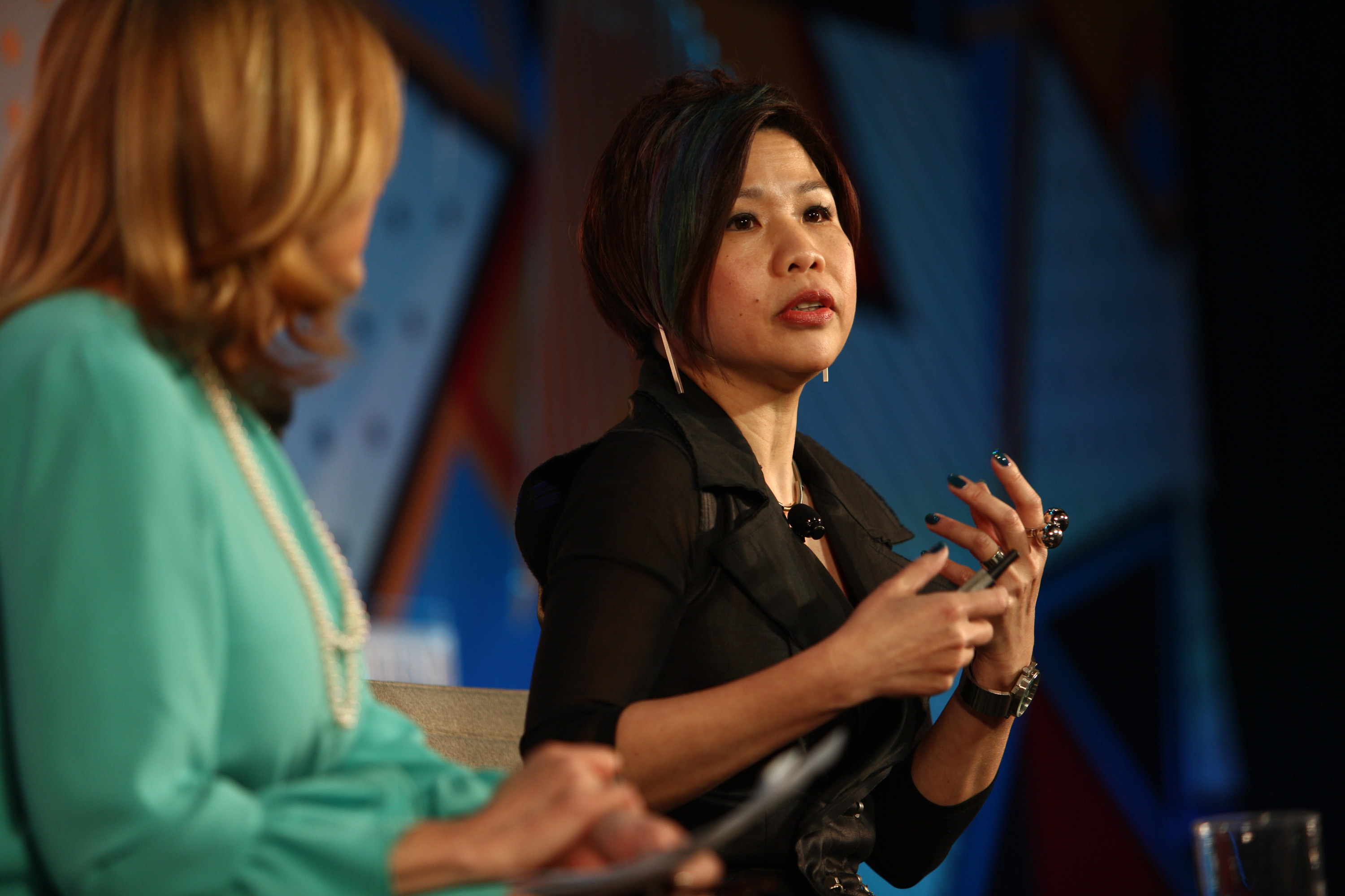 Chelsia Lau speaks at Fortune MPW in Hong Kong on March 1, 2016.