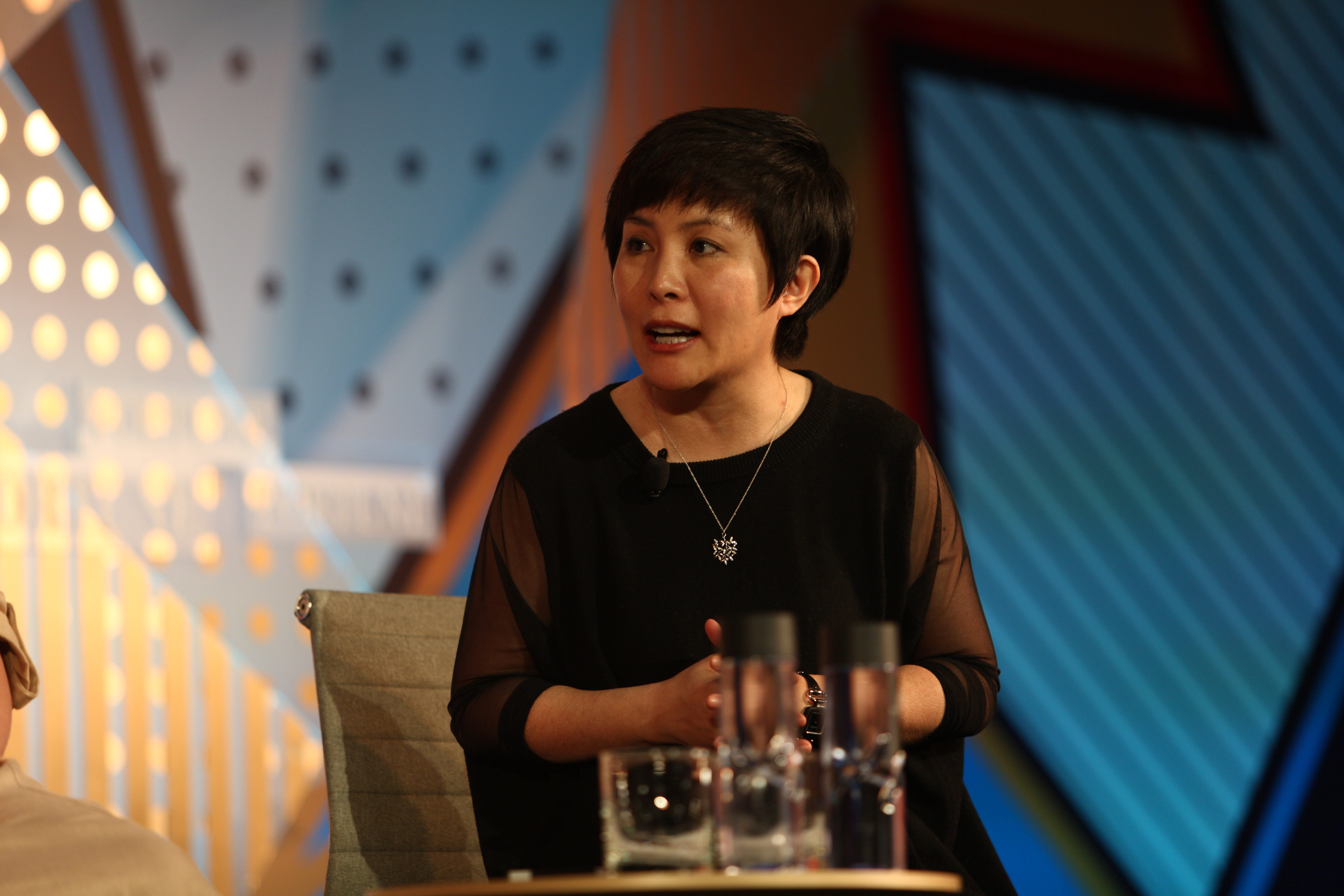 Melissa Yang of Tujia.com at Fortune's Most Powerful Women International Summit  in Hong Kong on March 1, 2016.
