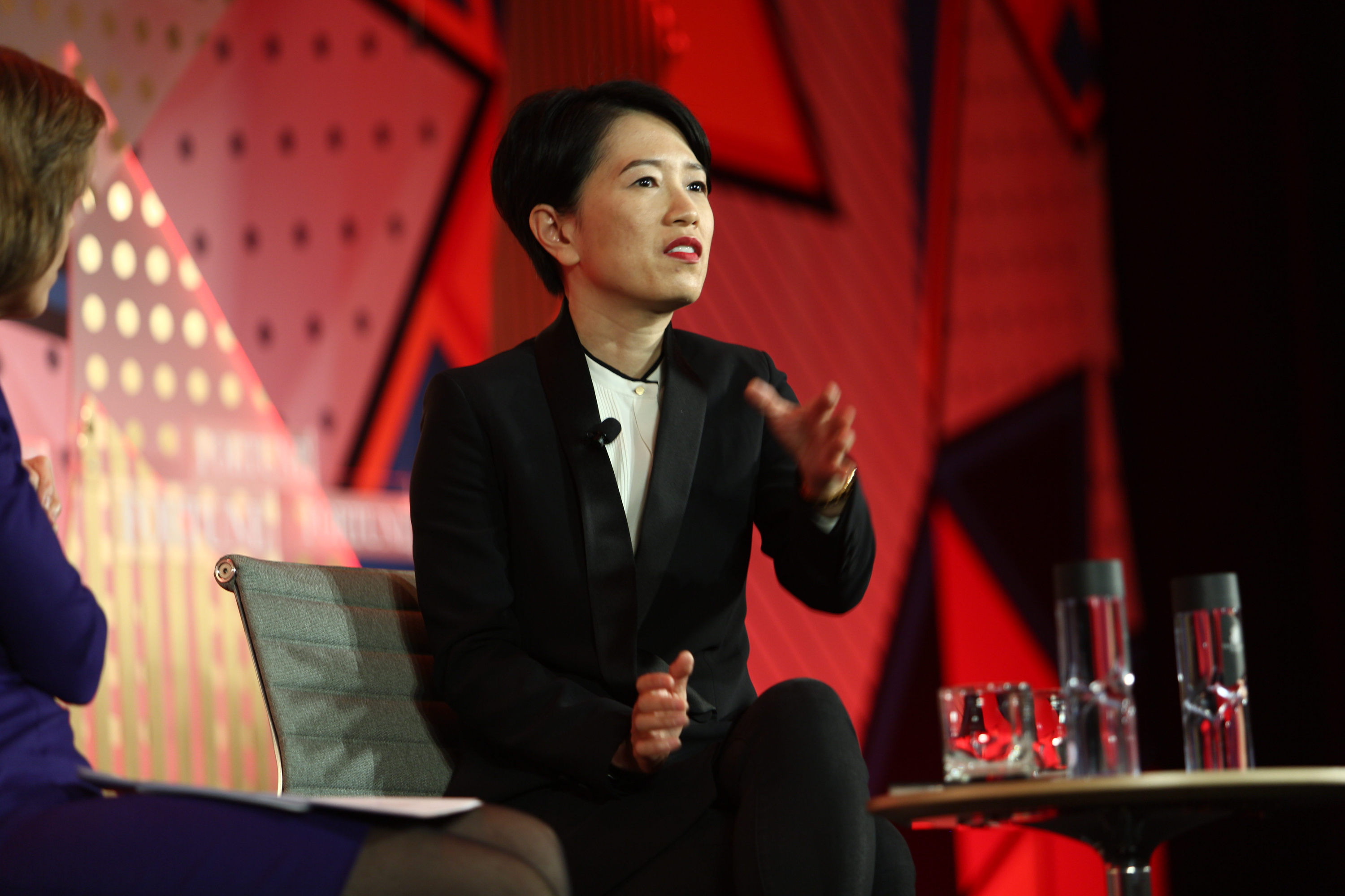 Rachel Duan, CEO of GE China, speaks at Fortune's Most Powerful Women International Summit on March 1, 2016.