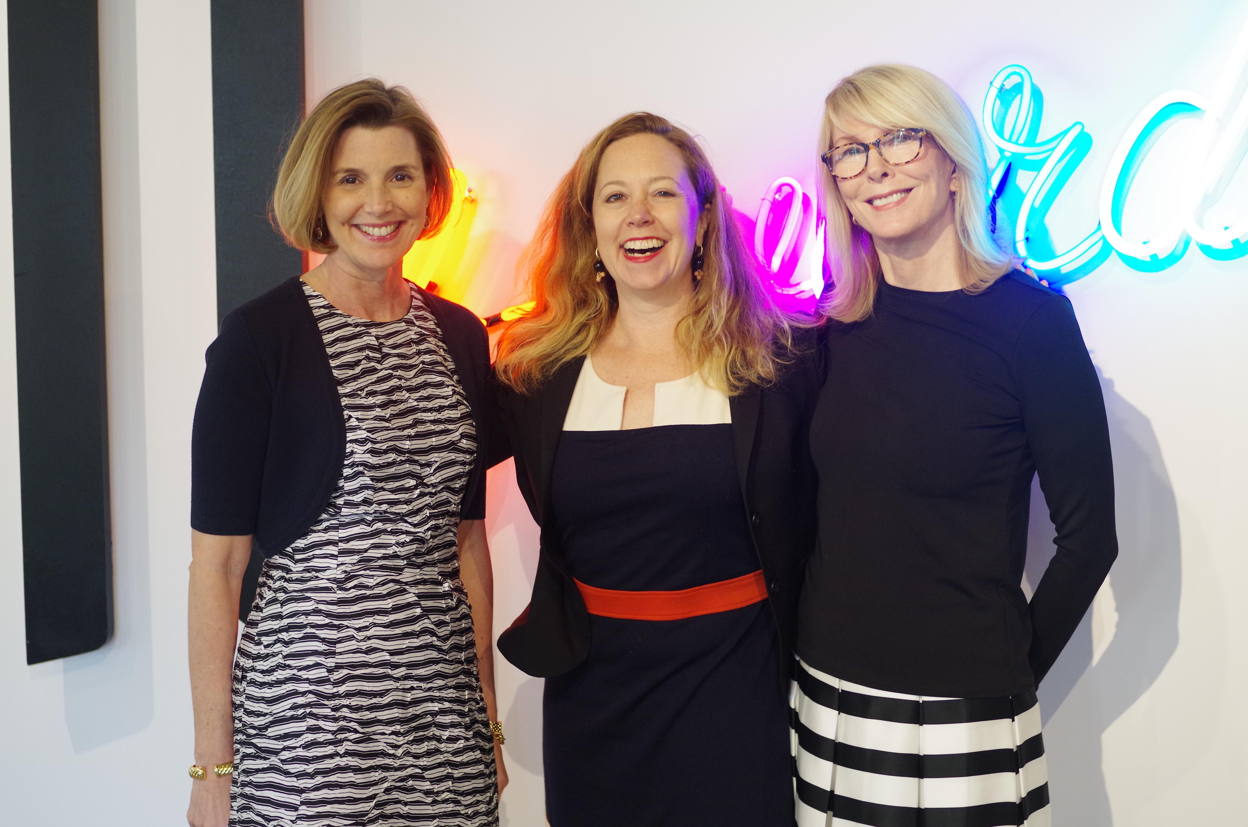Sallie Krawcheck, Jennifer Reingold, and Susan Lyne at STORY, March, 2016