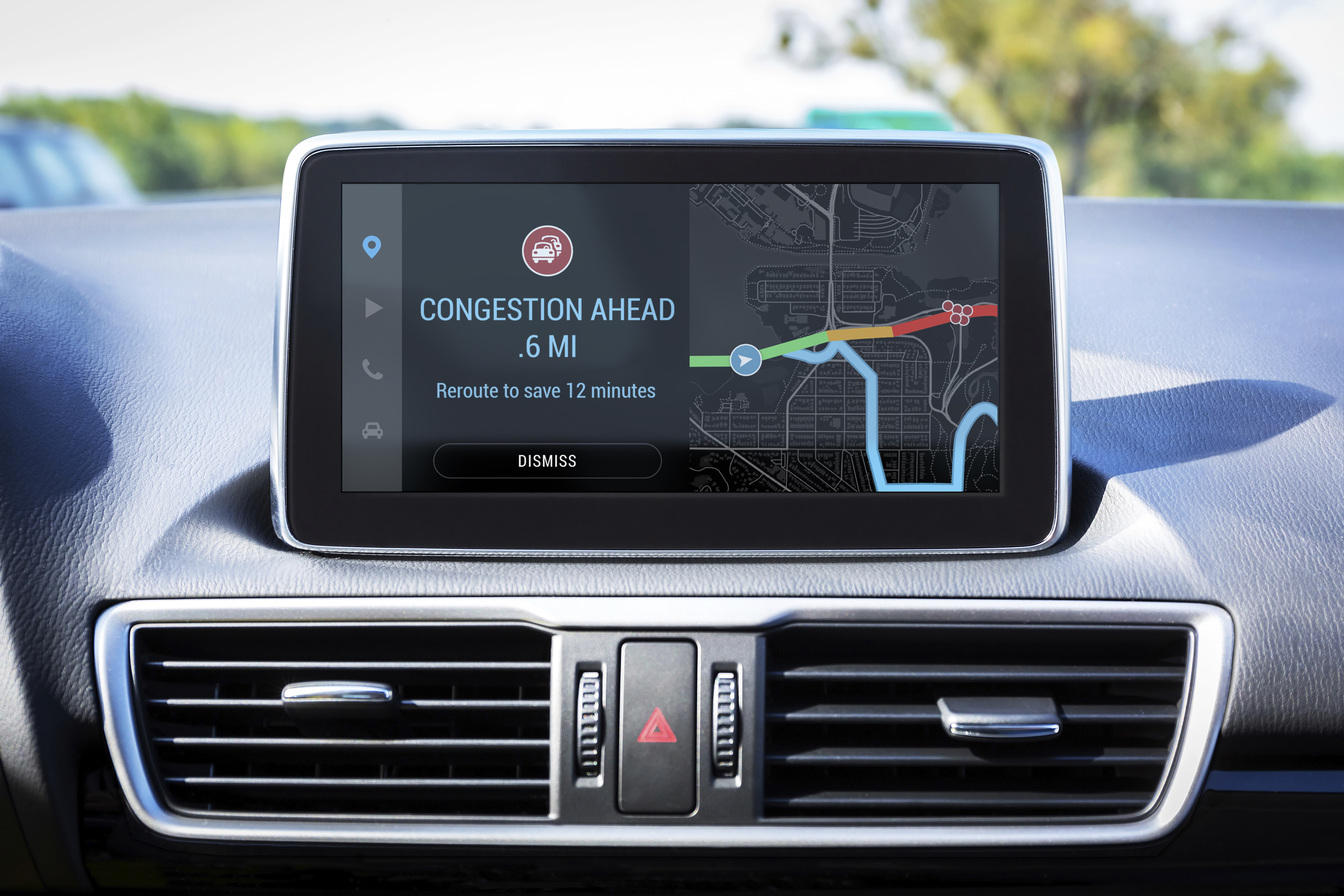 Inrix has acquired OpenCar, which developed an in-car app platform that could rival Apple and Google's systems.