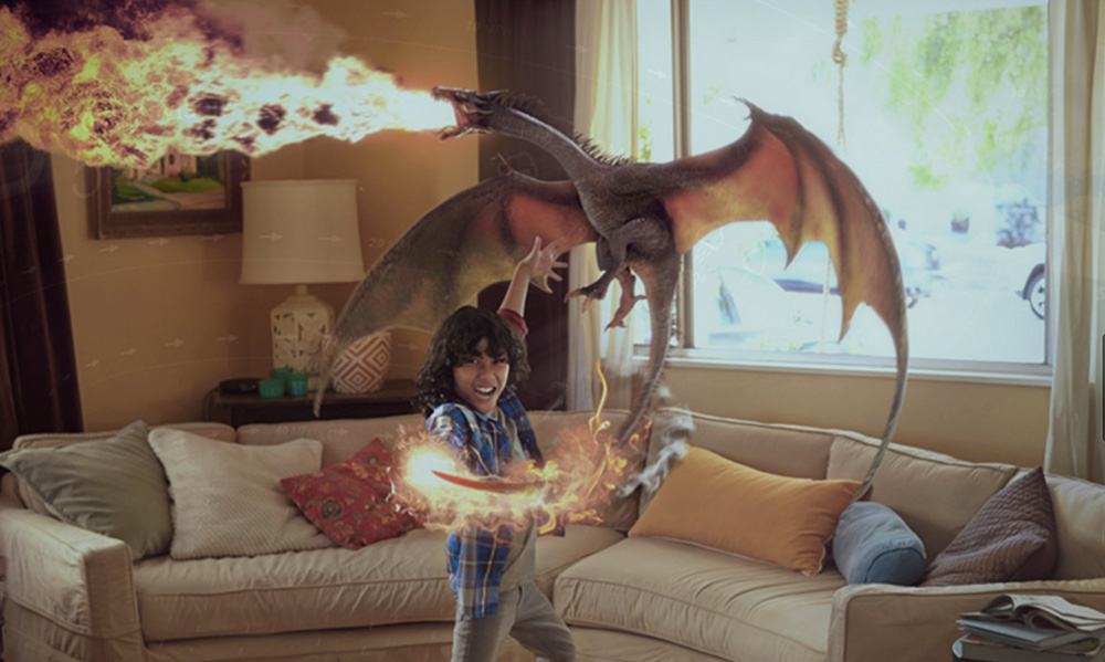 Magic Leap lightfield technology blends digital objects seamlessly with reality.