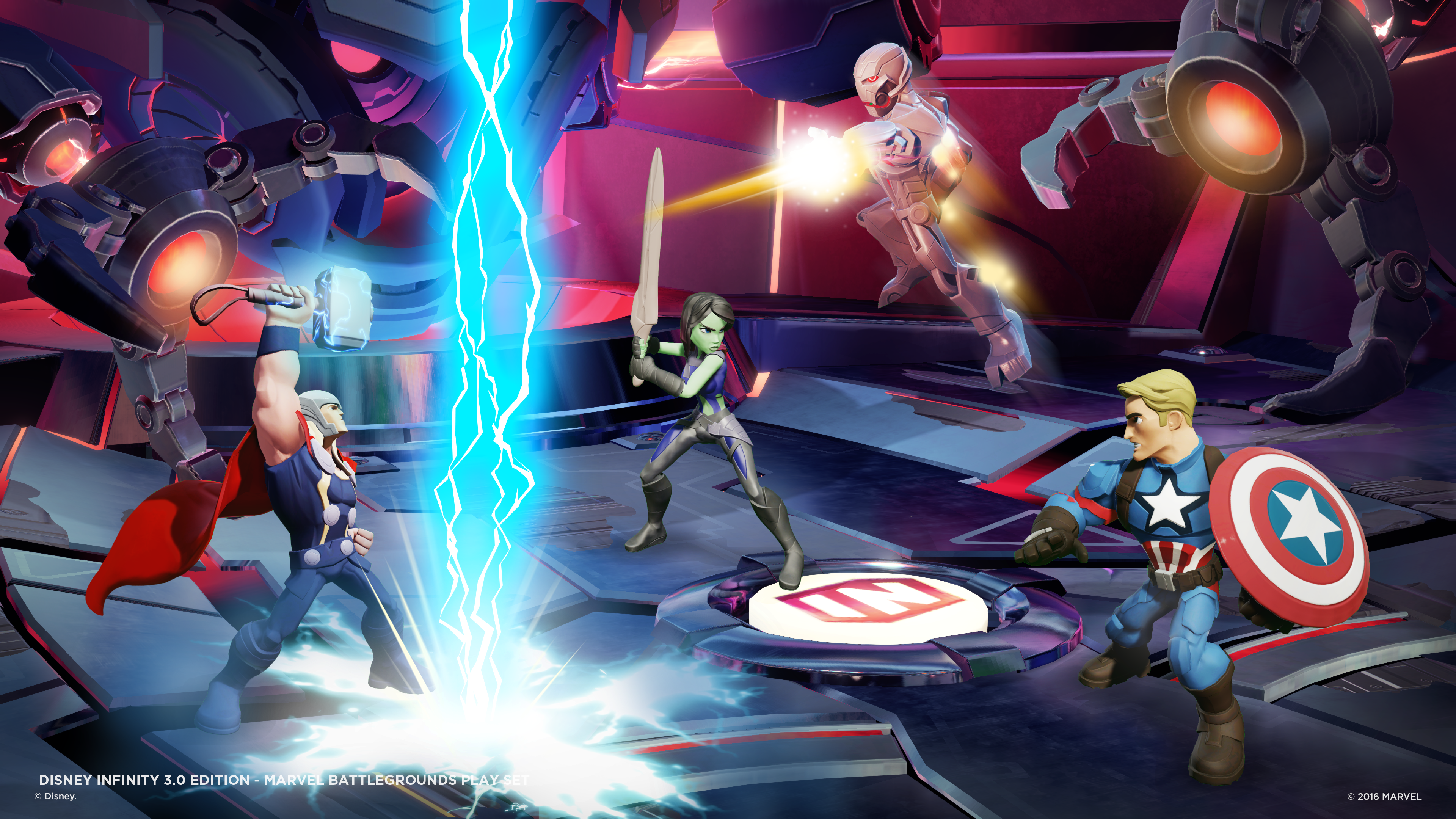 "Disney Infinity 3.0 expands into the cooperative fighting game category with ""Marvel Battlegrounds."""