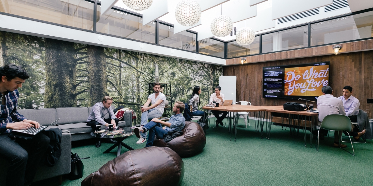 Astonishing Wework Will House 300 Microsoft Employees In New York City Gmtry Best Dining Table And Chair Ideas Images Gmtryco