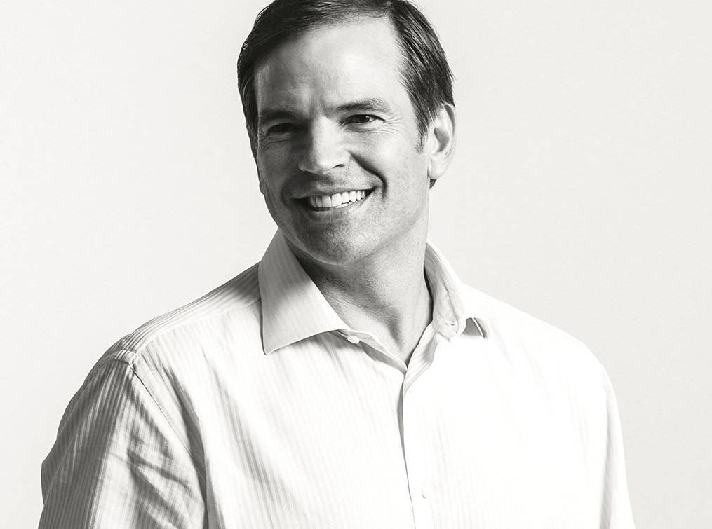 Michael Goguen's profile photograph from the Sequoia website, prior to his departure.