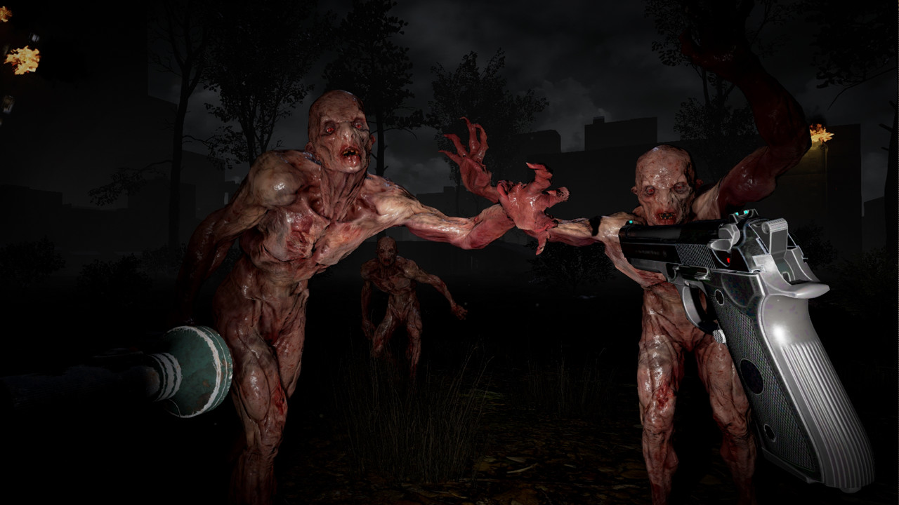 """Virtual reality games such as """"The Brookhaven Experiment"""" are helping HTC and Valve presell the Vive."""
