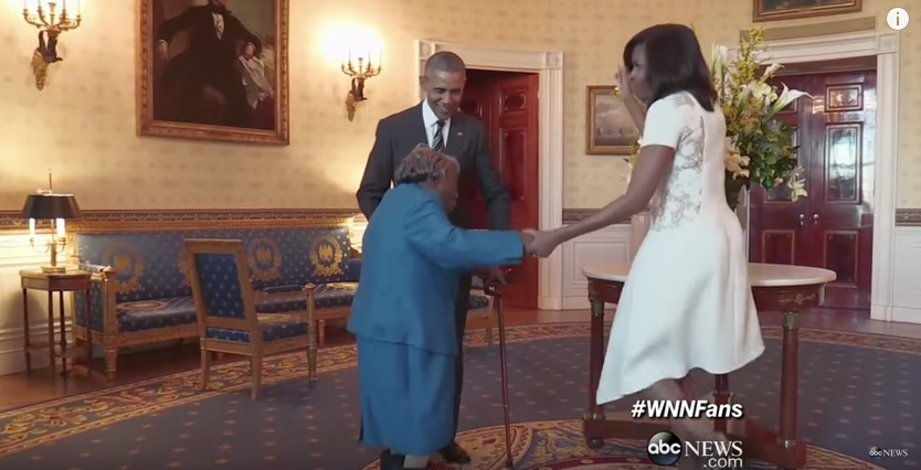 President Obama has had lots of feel-good moments in the last year, such as when he invited a 106-year-old to the White House.