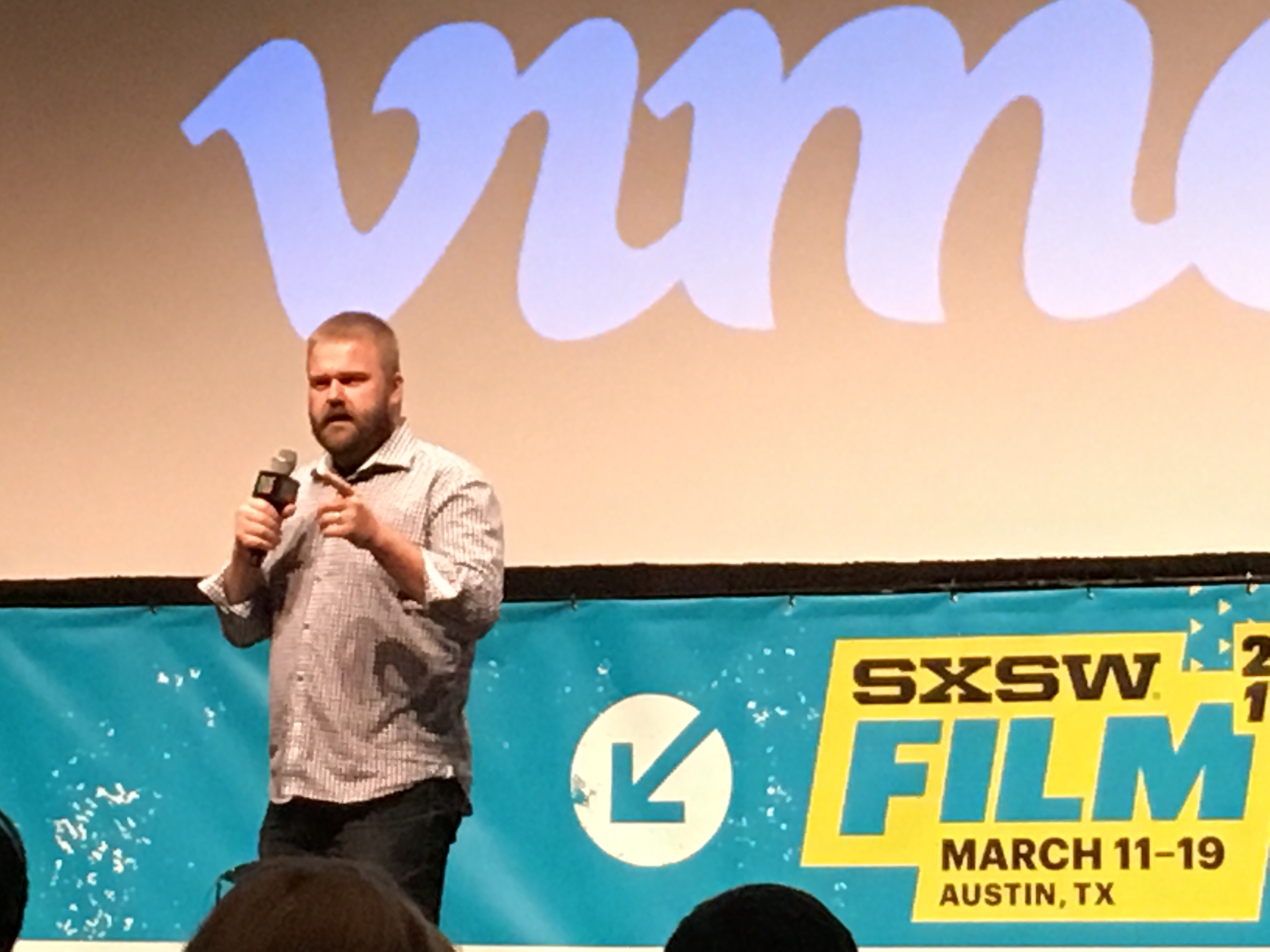 Robert Kirkman, creator of The Walking Dead and Outcast, talks at South By Southwest.