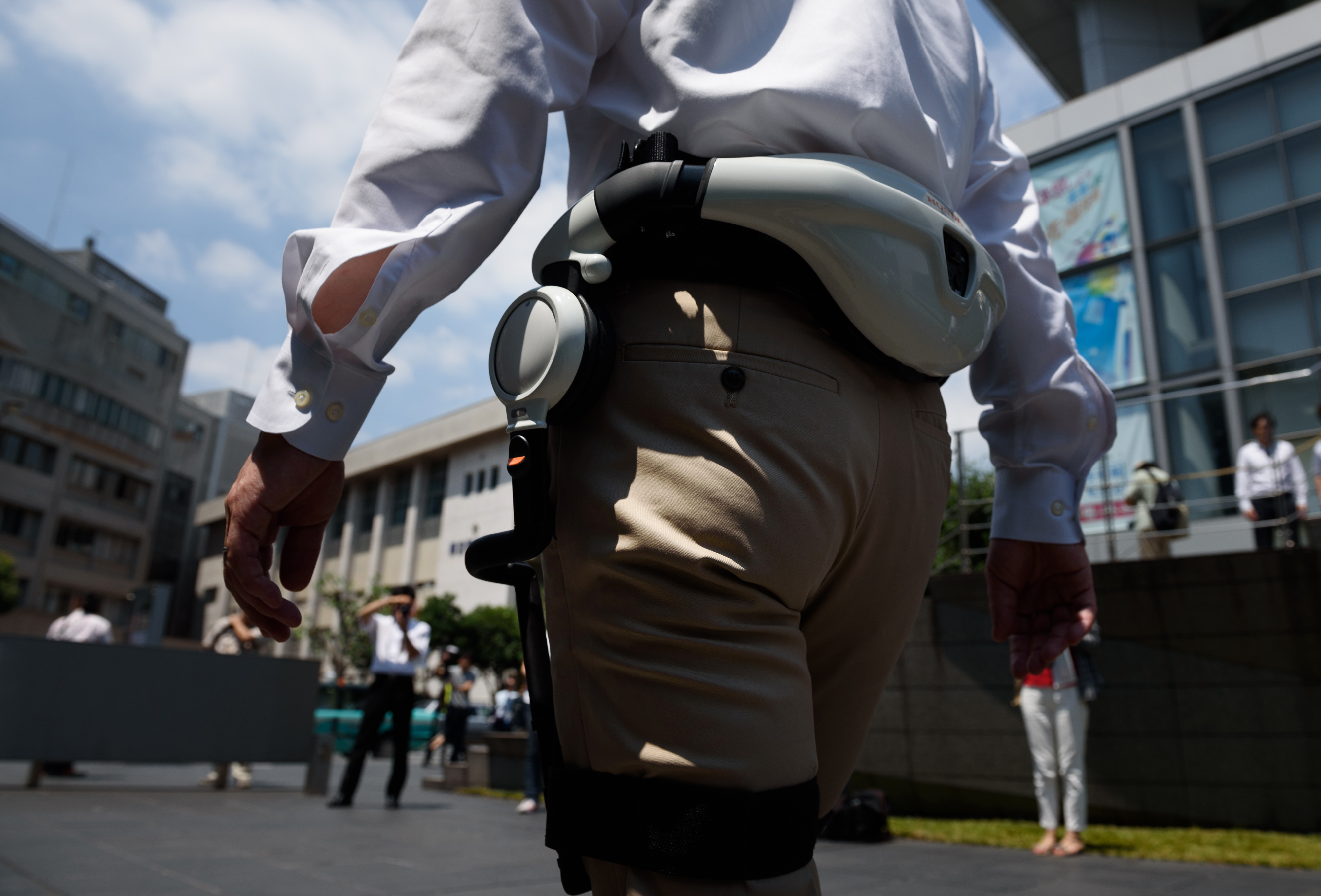 Honda Motor Co. Demonstrates Walk Assist And Mobility Device