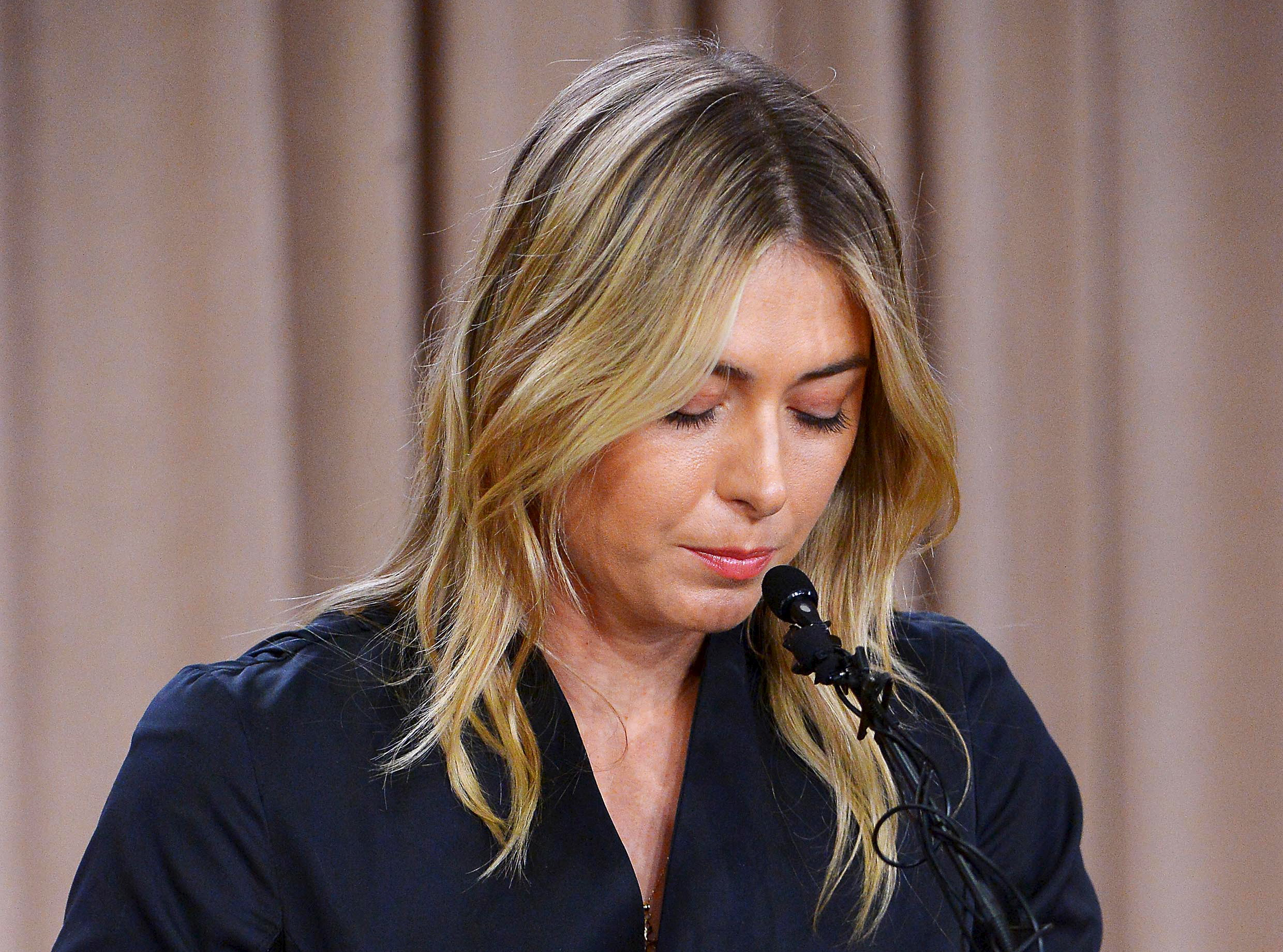 Tennis: Maria Sharapova-Press Conference