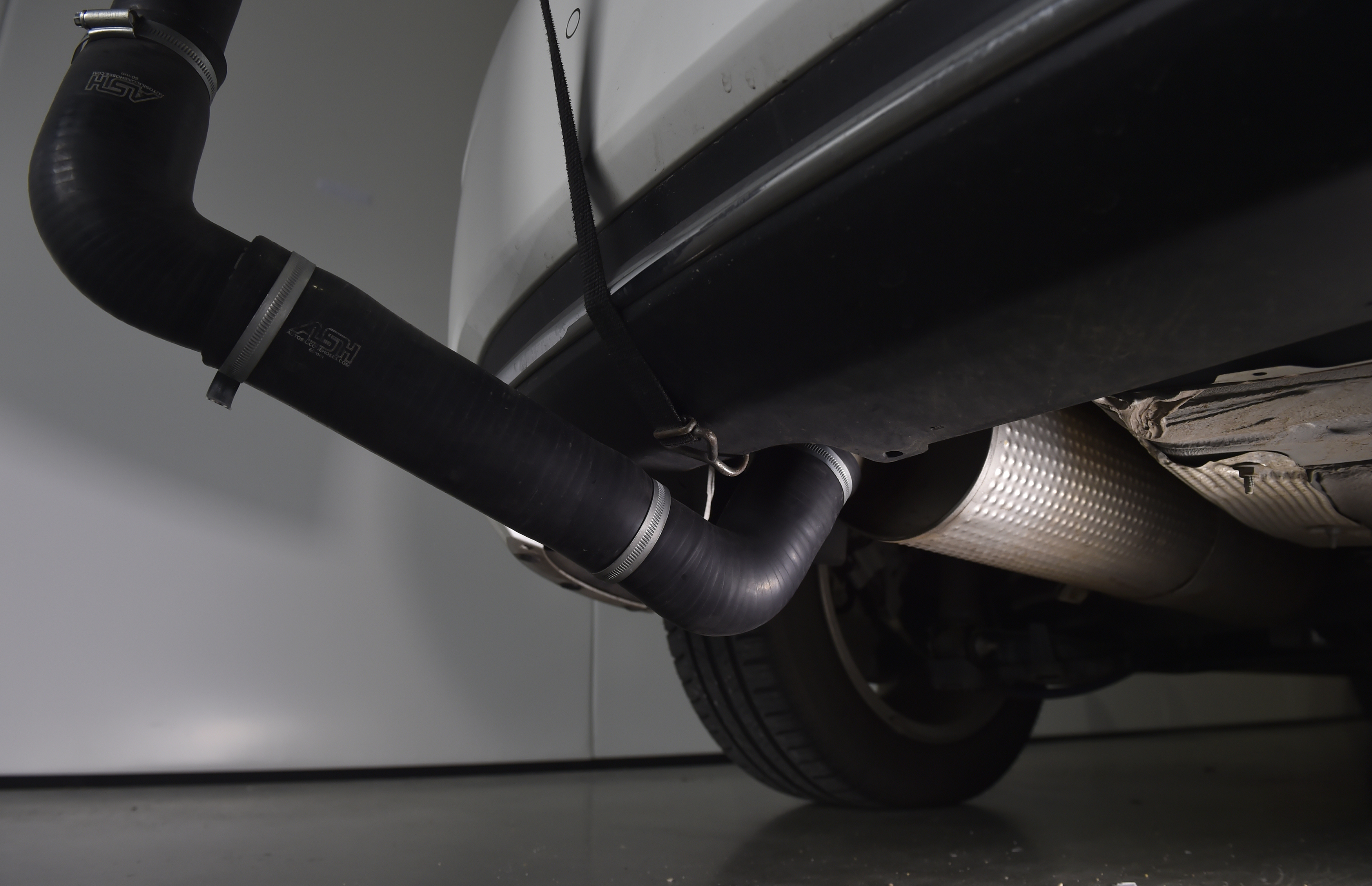 Emissions Analytics car testing in west London