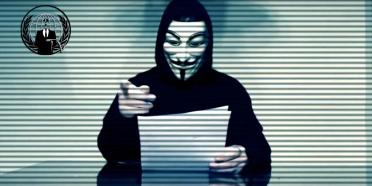Anonymous Hackers Declare 'Total War' on Donald Trump