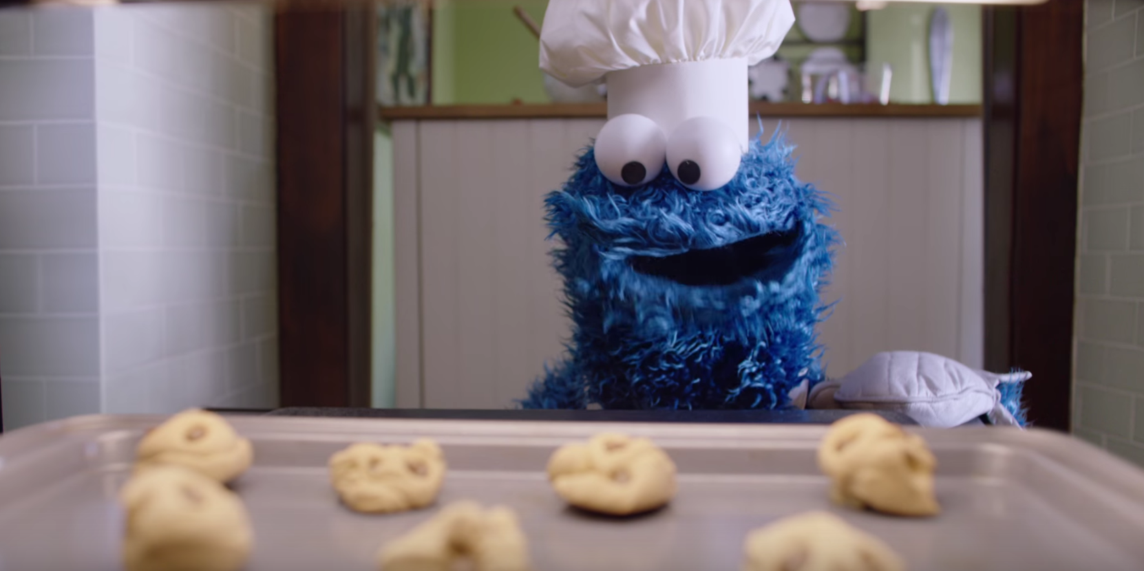Is Cookie Monster Apple's best spokesperson?
