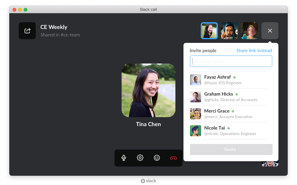 """Slack is testing voice calling features """"at scale."""""""