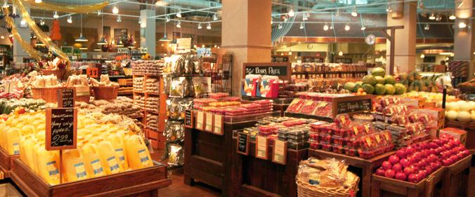 A Fresh Market interior.