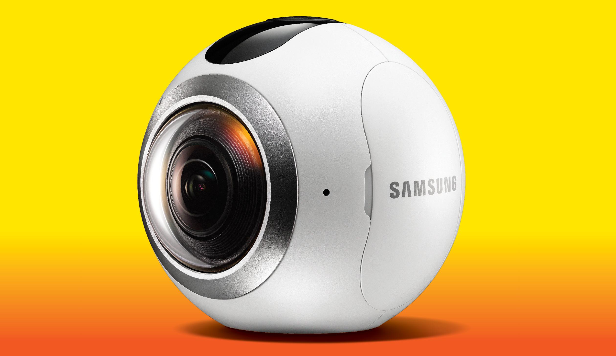 Samsung's Gear 360 Camera