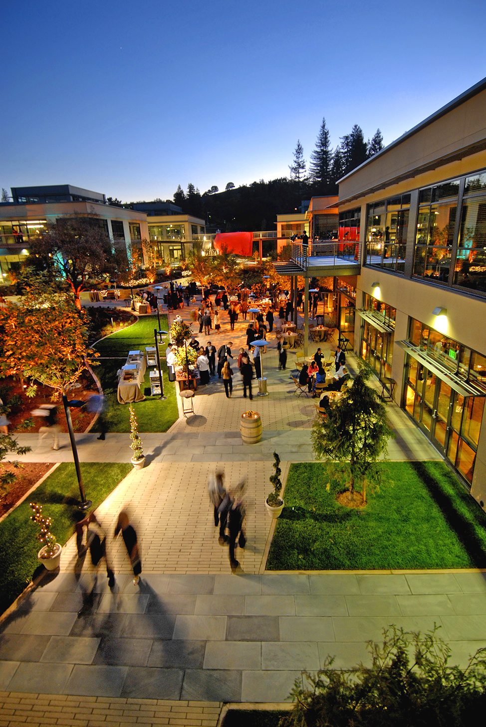 """A recent """"camaraderie building"""" event held at the original part of VMware's Palo Alto's offices, known as the Promontory Campus"""