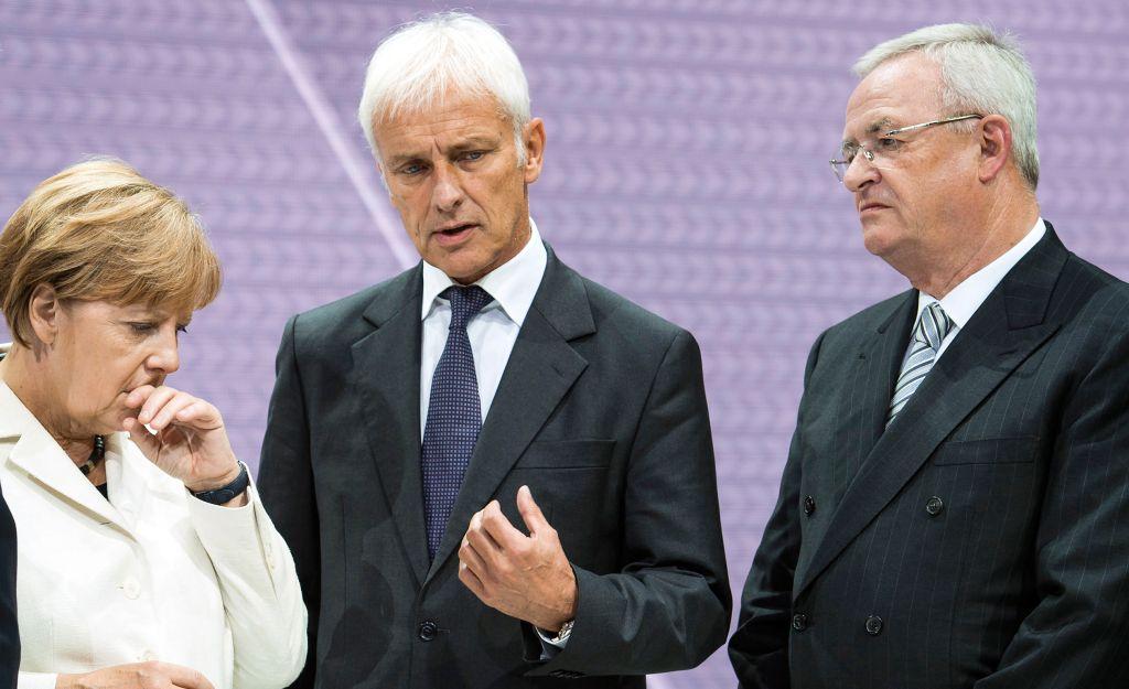 Volkswagen Diesel, Angela Merkel, Mattias Muller, Martin Winterklrn