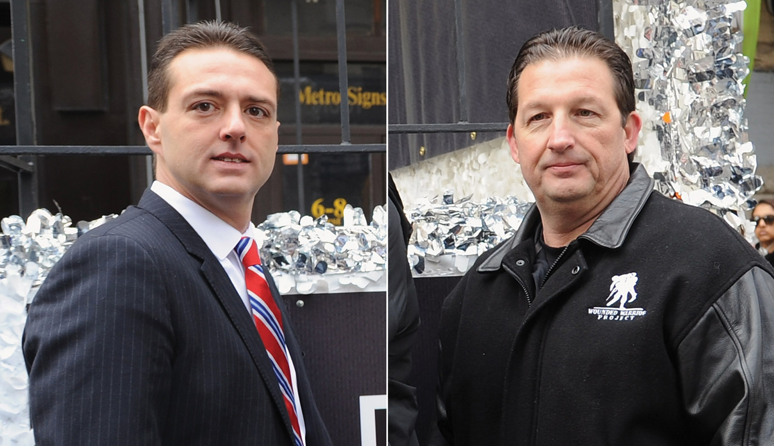 Steven Nardizzi and Al Giordano, former CEO and COO of the Wounded Warrior Project