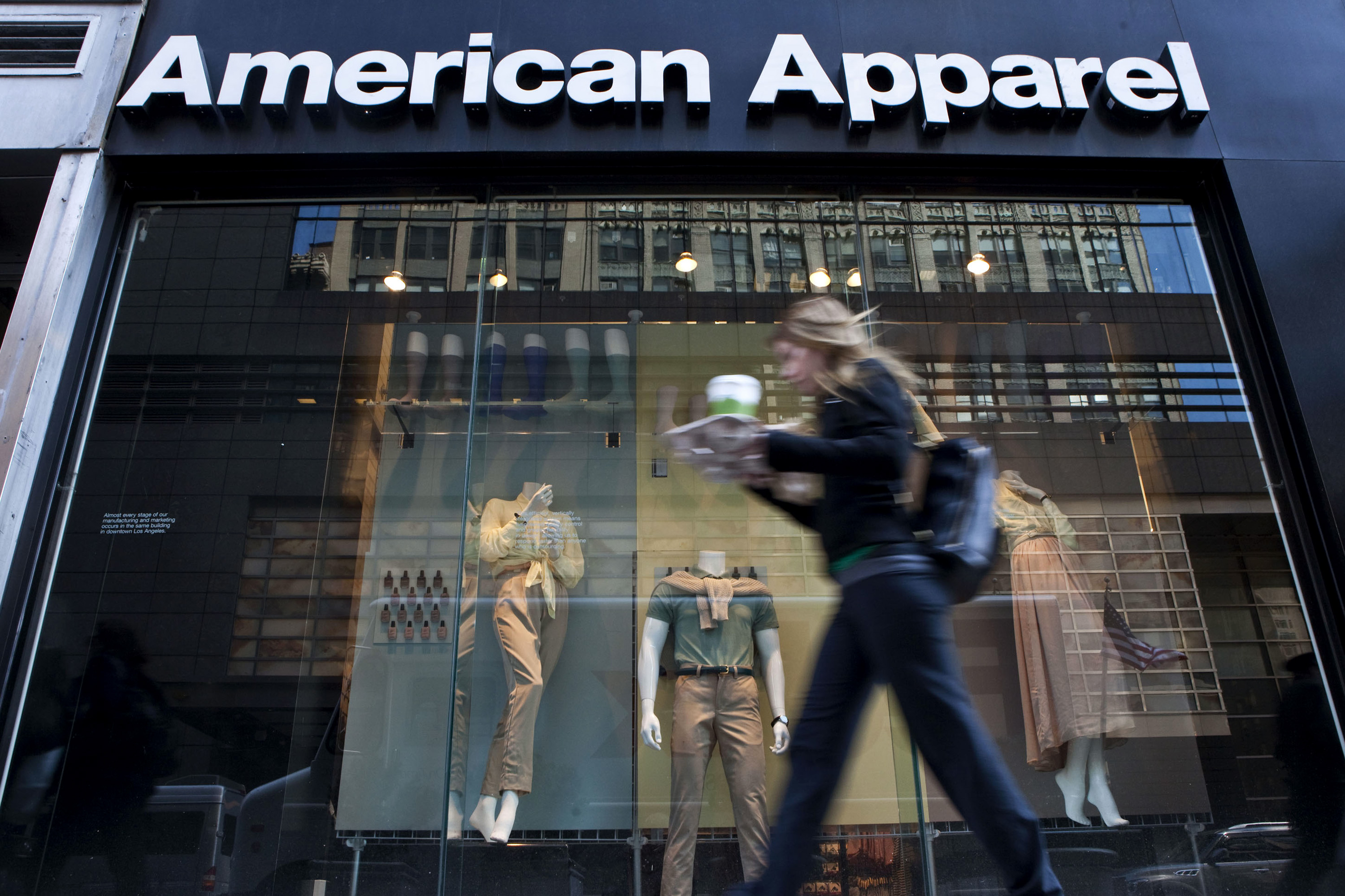 American Apparel Glamour Fades As Losses Spur Cash Crunch