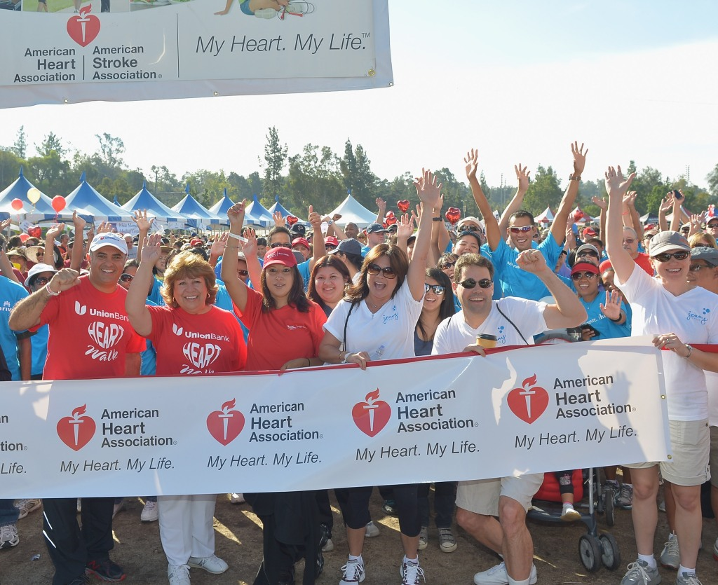 Jenny Craig American Heart Association Heart Walk With Valerie Bertinelli