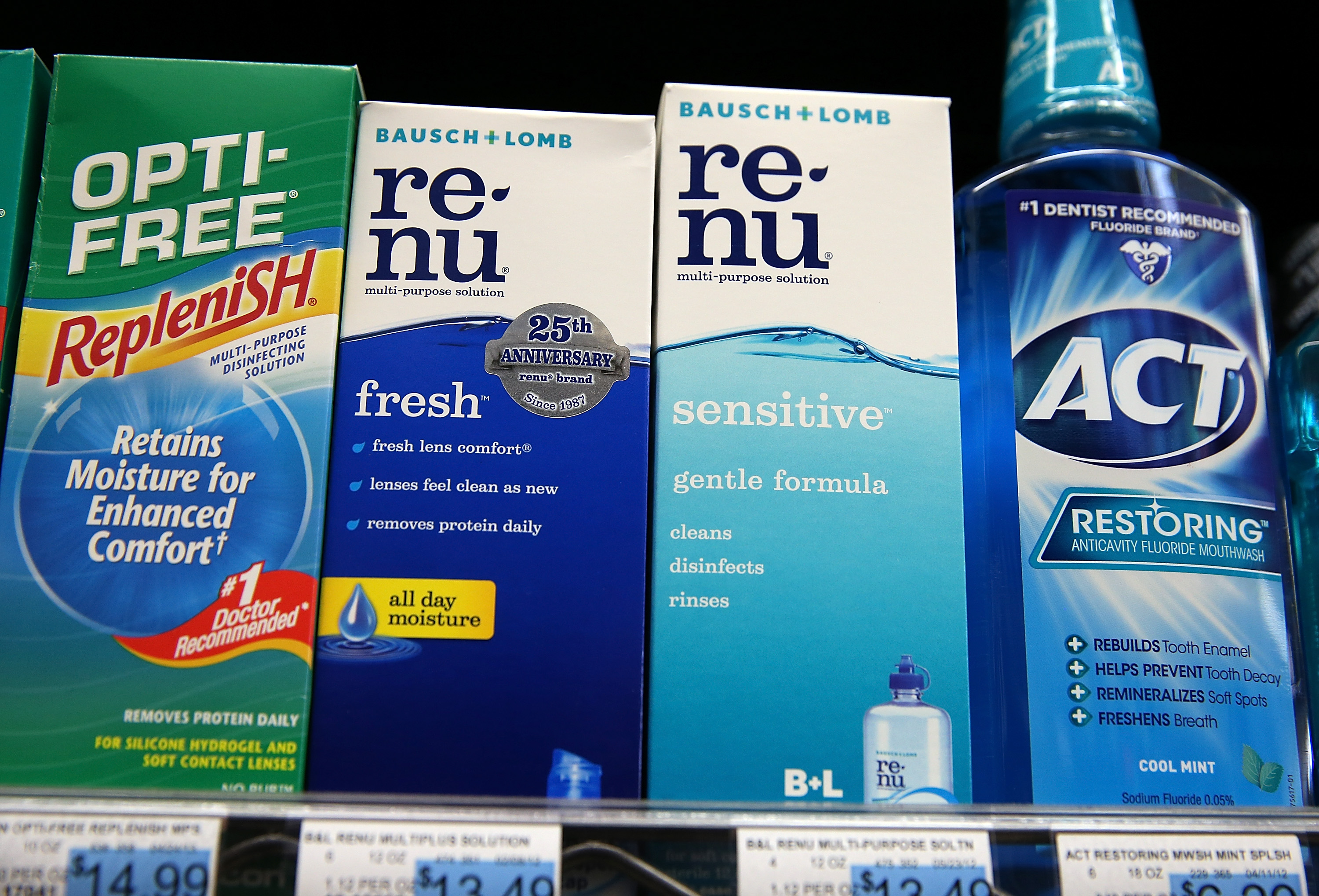 Valeant To Buy Bausch & Lomb For $8.7 Billion