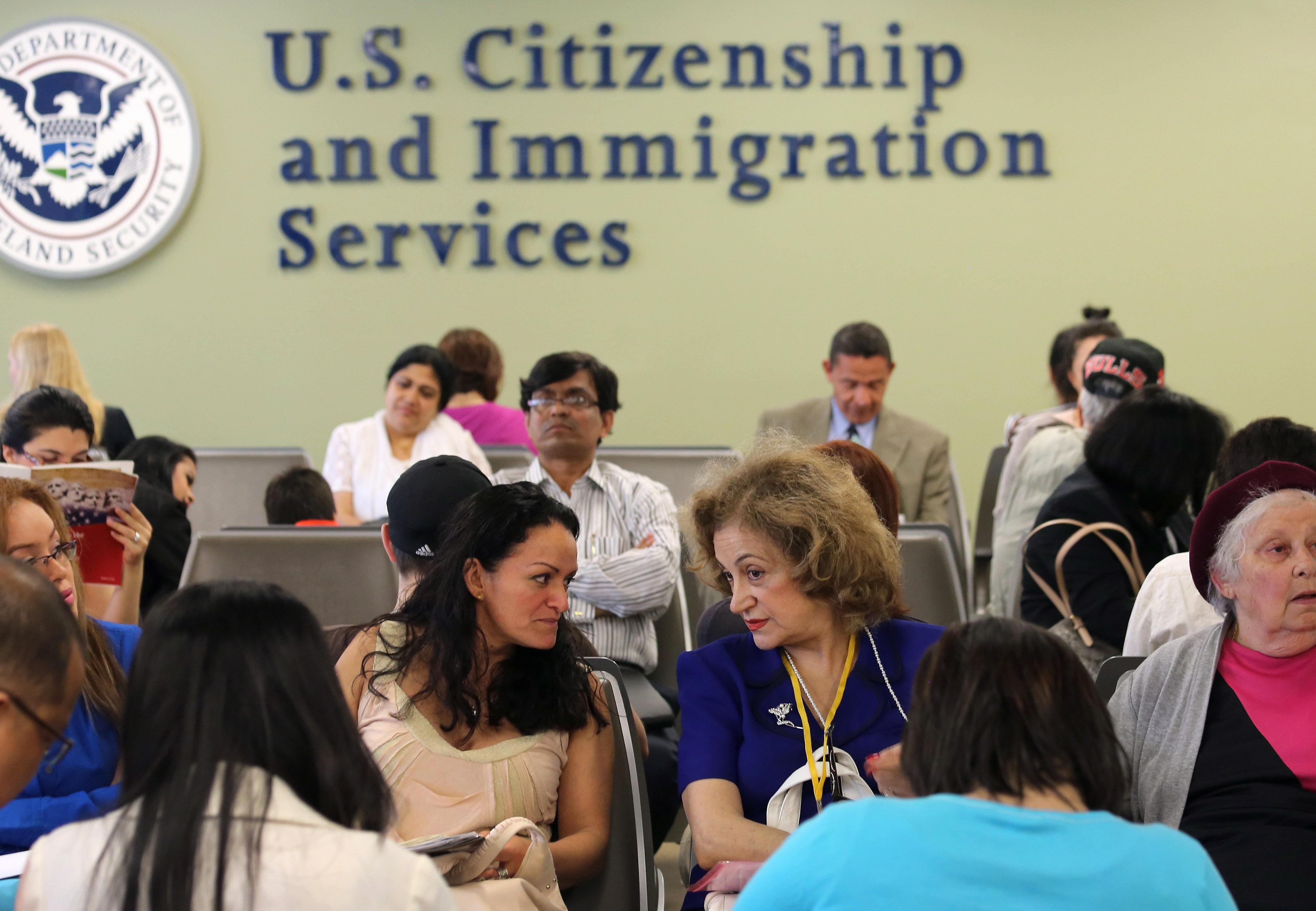 USCIS Processes Immigrant Applications For U.S. Citizenship