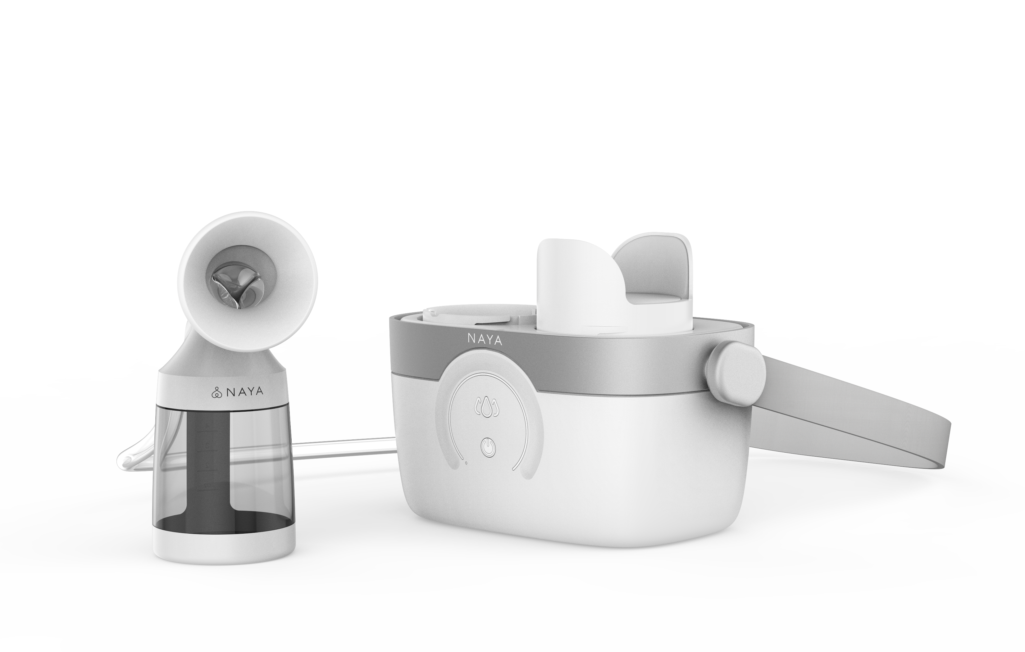 Naya Health is taking orders for a breast pump that uses a water-based hydraulic system. Plus, there's an app to track pumping sessions.
