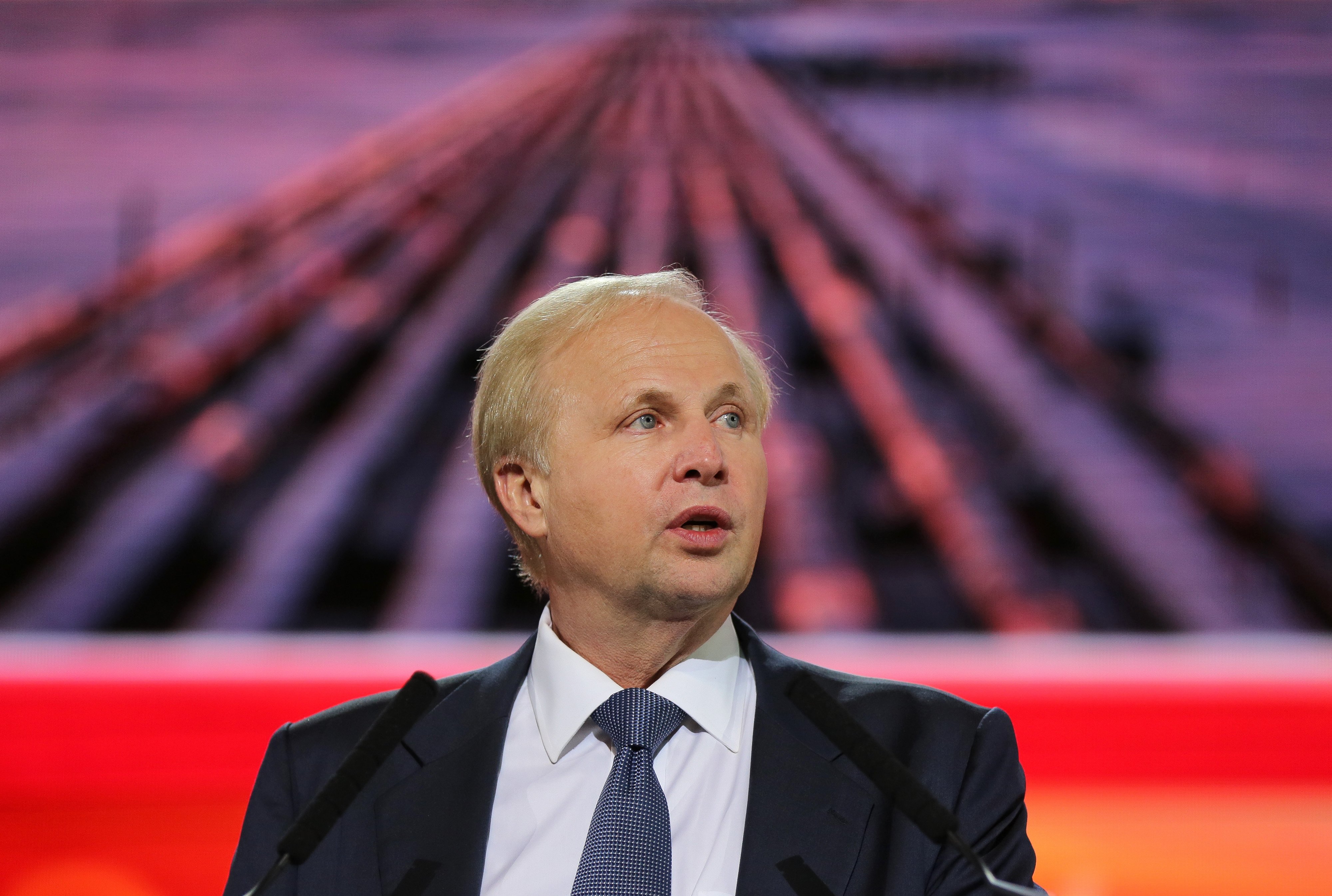 BP Plc Chief Executive Offficer Bob Dudley And Petroleum Industry Chiefs At The 21st World Petroleum Congress