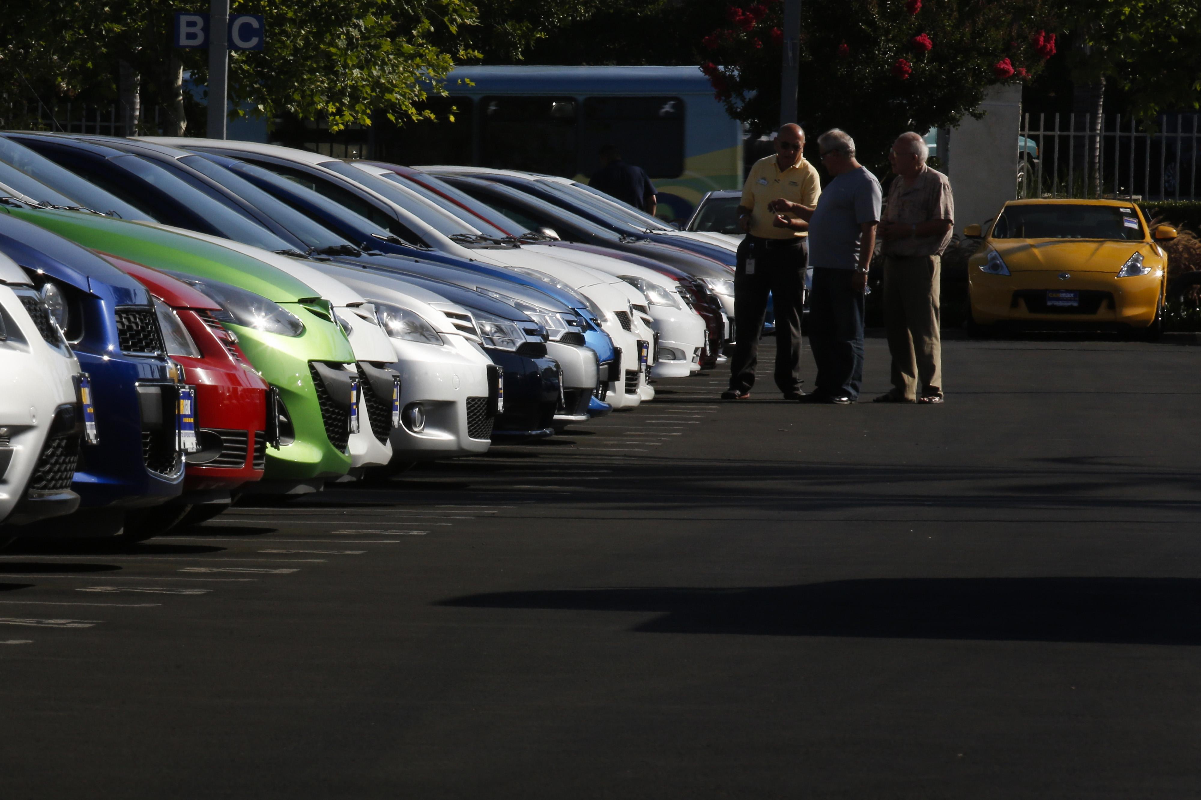 A CarMax dealership.