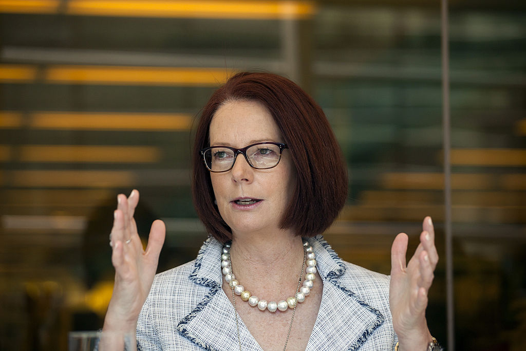 Former Australian Prime Minister and Chairman of GlobalPartnership of Education Julia Gillard Interview