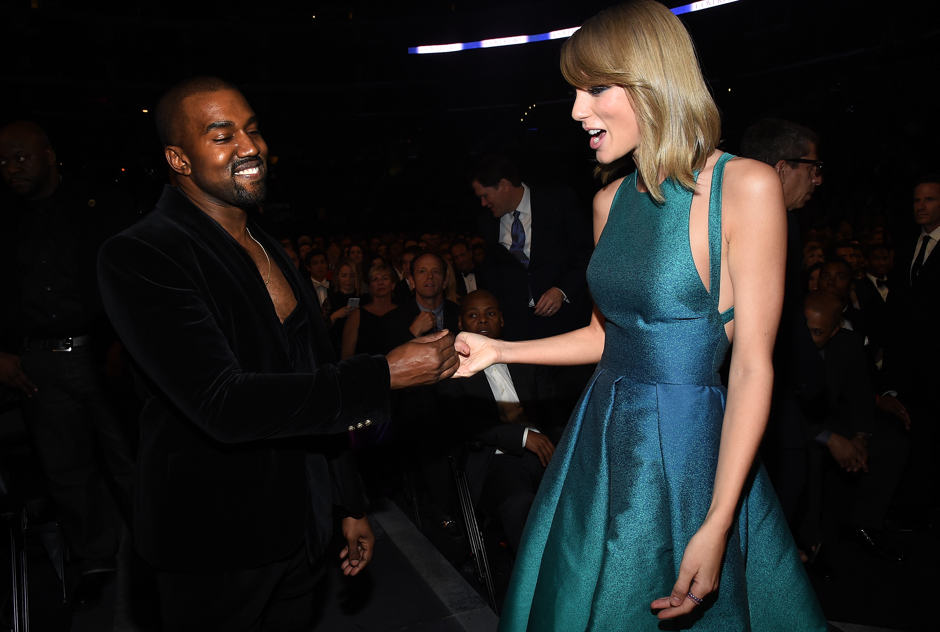 attends The 57th Annual GRAMMY Awards at the STAPLES Center on February 8, 2015 in Los Angeles, California.