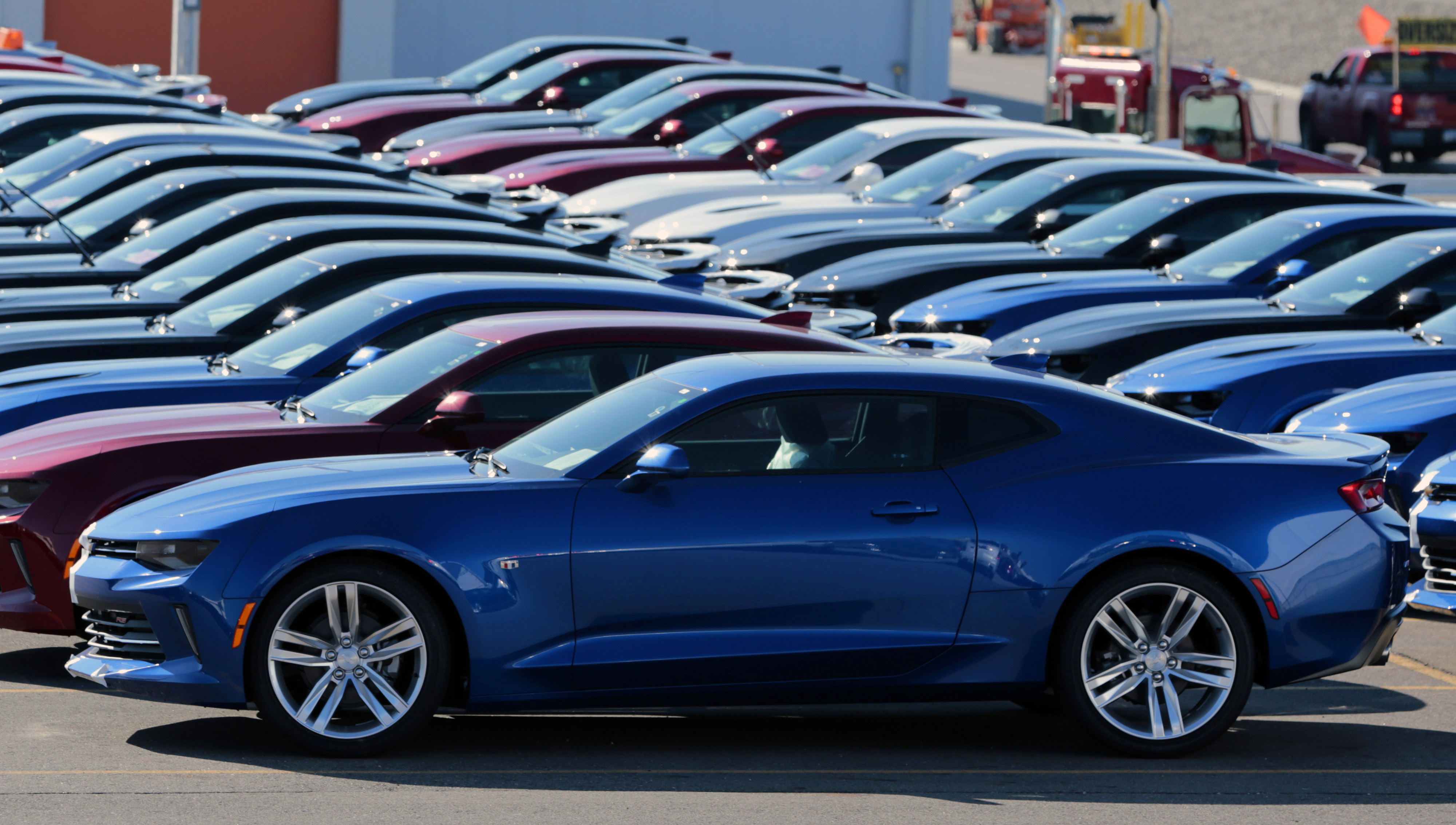 First General Motors Co. 2016 Camaro Rolls Off The Assembly Line