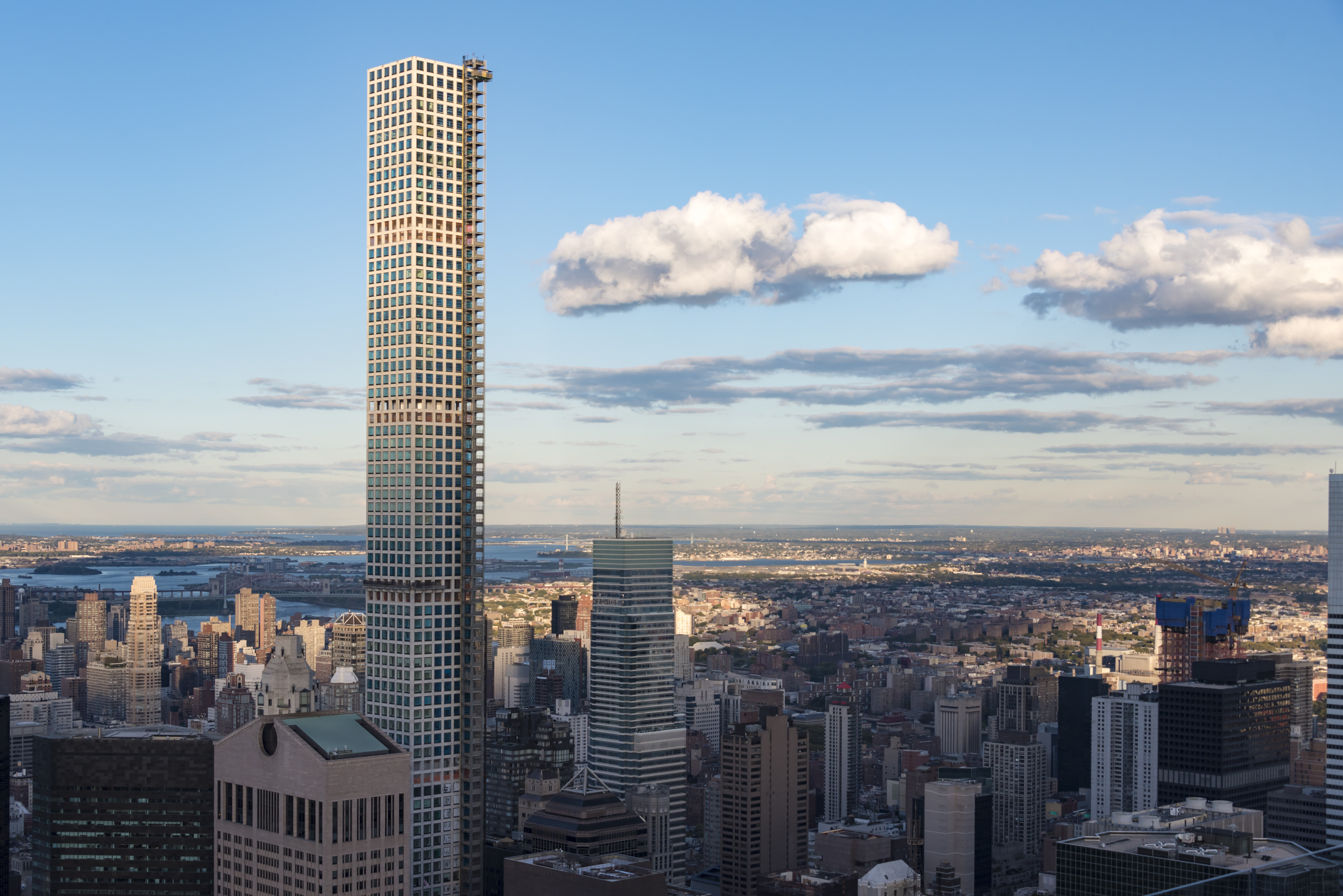 New York tours and attractions: 432 Park Avenue building