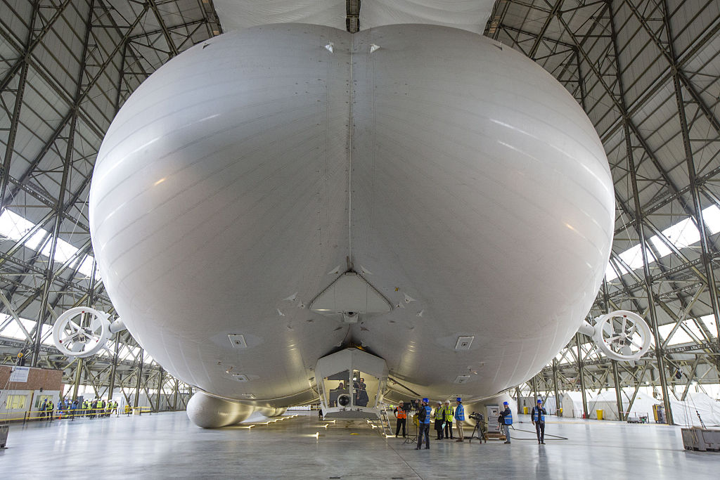 Global Media Launch Of The Airlander 10 Hybrid Airship