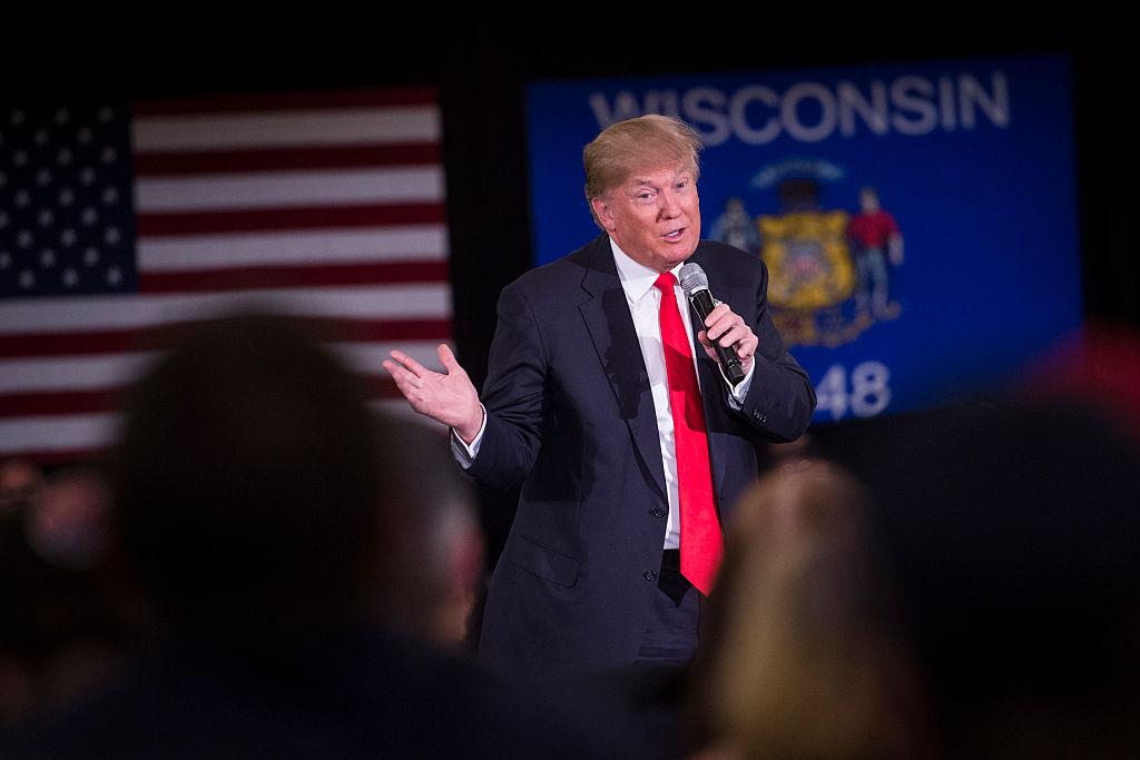 Donald Trump in Appleton, WI.