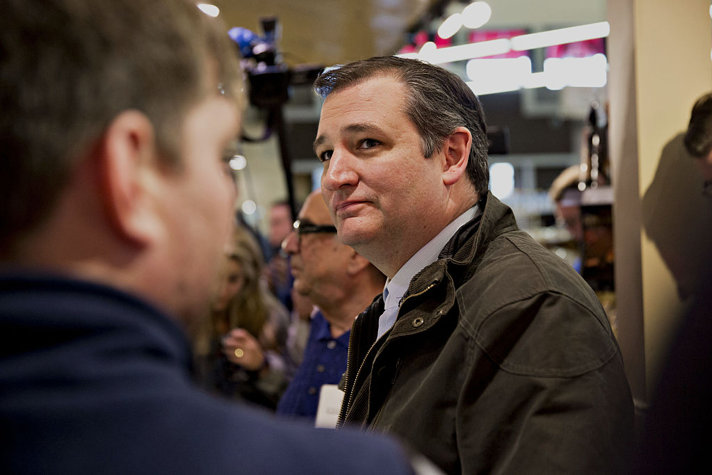 Presidential Candidate Ted Cruz Holds Wisconsin Retail Campaign Stop