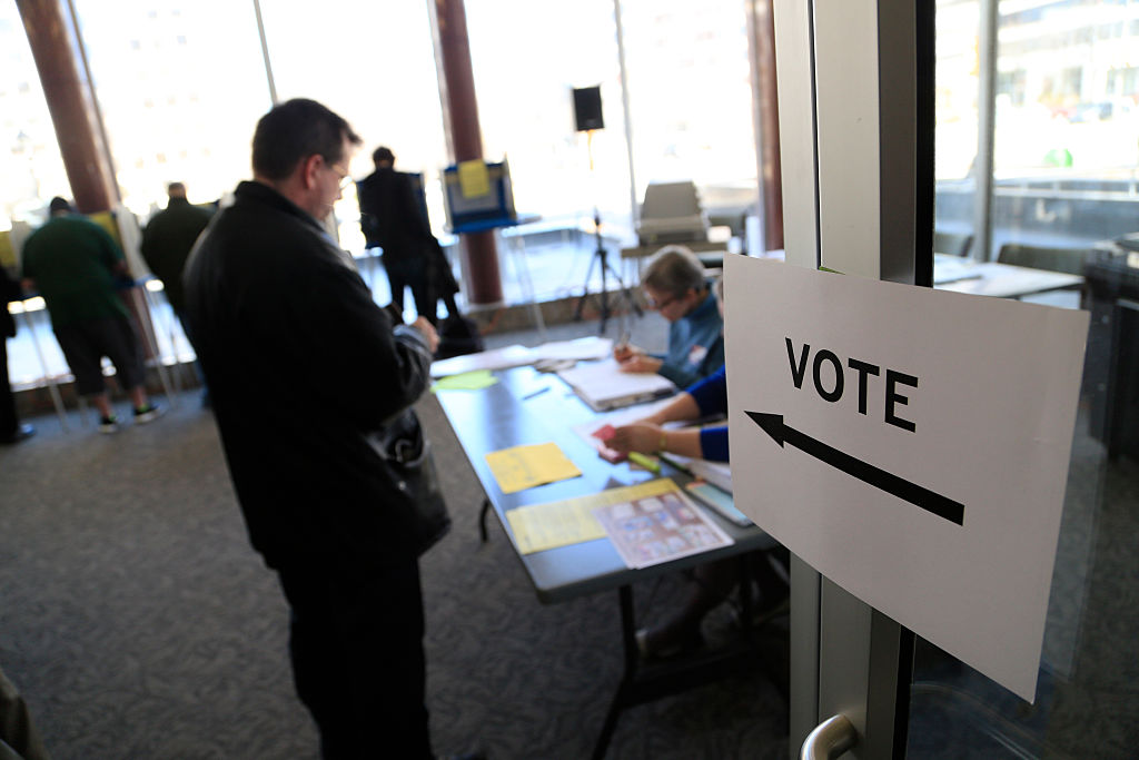 Wisconsin Voters Take Part In State's Primary