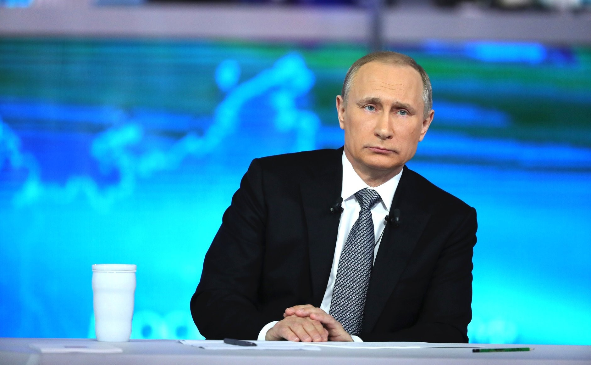 Direct Line with Vladimir Putin in Moscow