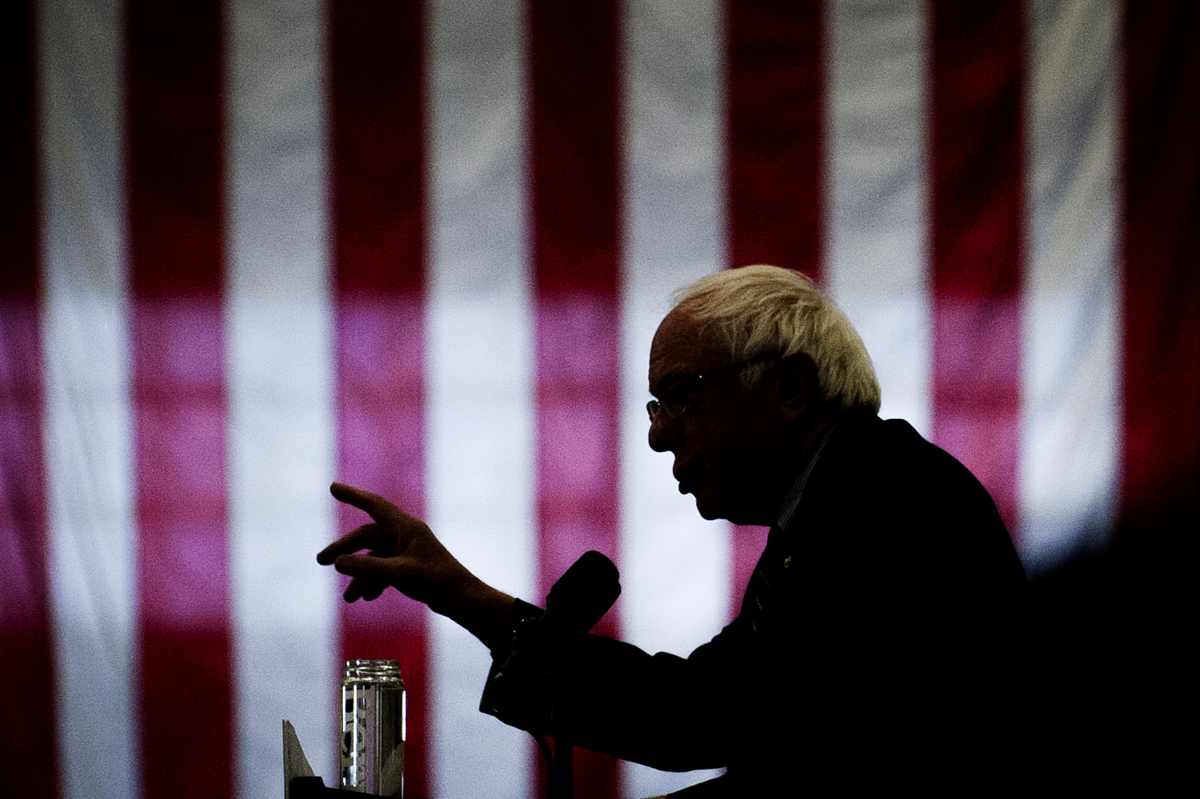 Presidential Candidate Bernie Sanders Holds Pittsburgh Campaign Rally