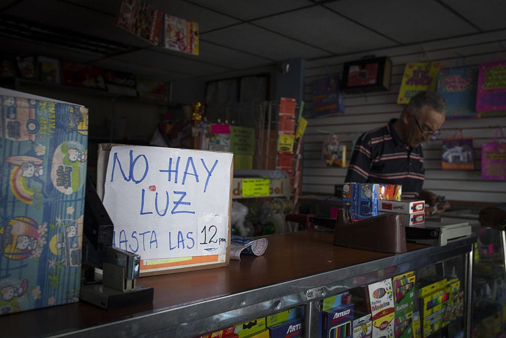 Venezuelans Take Blackouts In Stride As Chaos Mounts