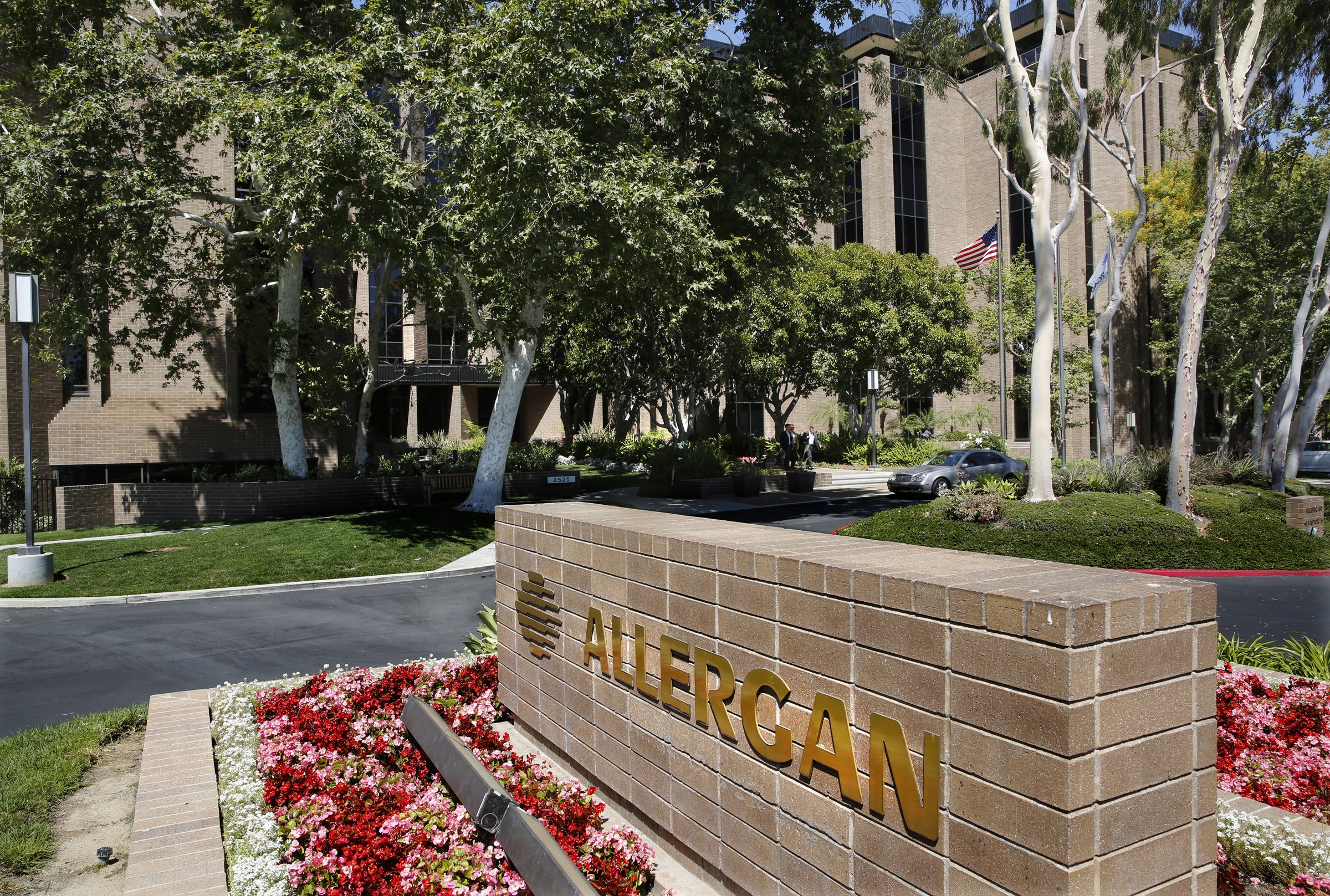 The CEO of Valeant Pharmaceuticals has suggested that Allergan is fat, overstaffed and ripe for big