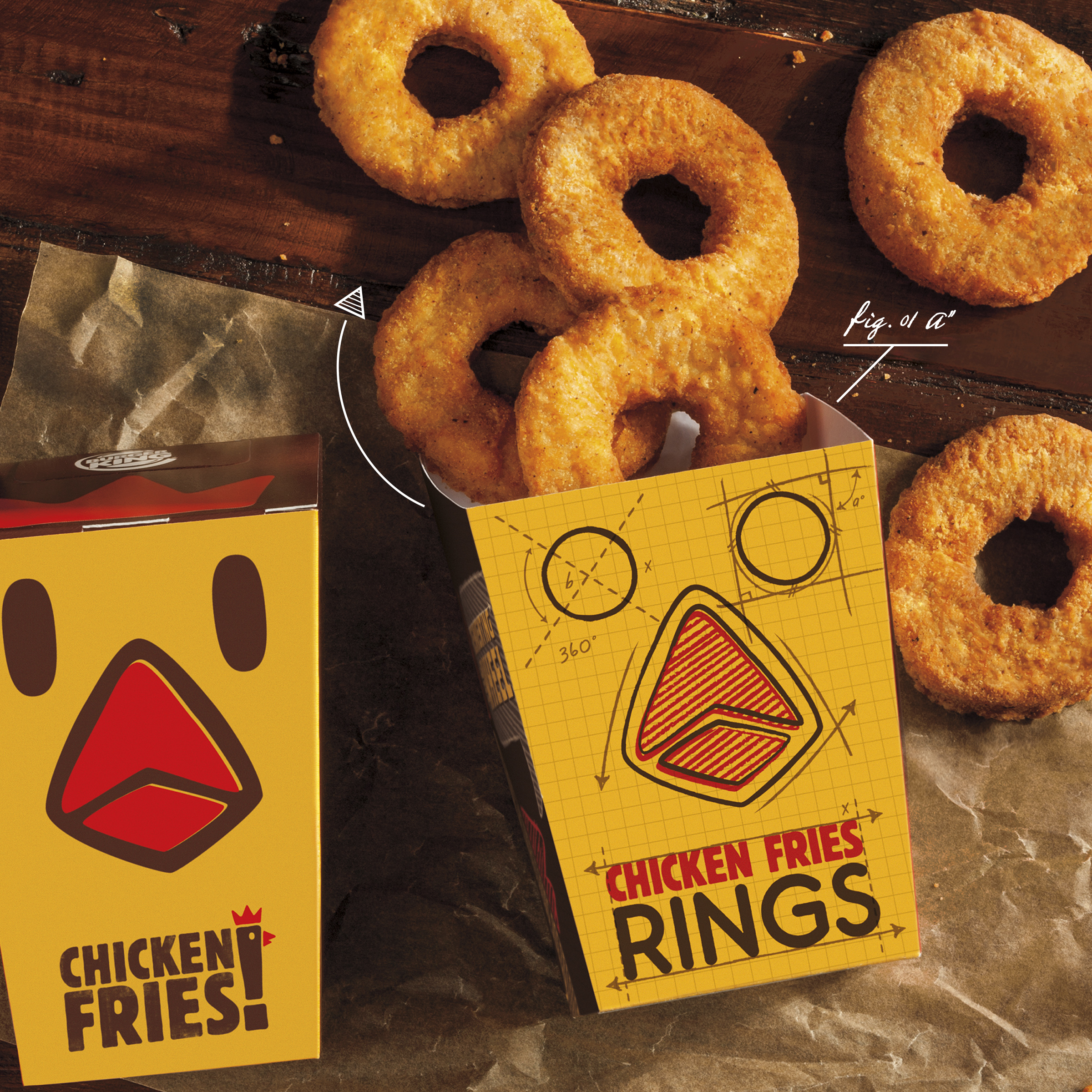 Burger King is introducing Chicken Fries Rings as a limited-time offering.