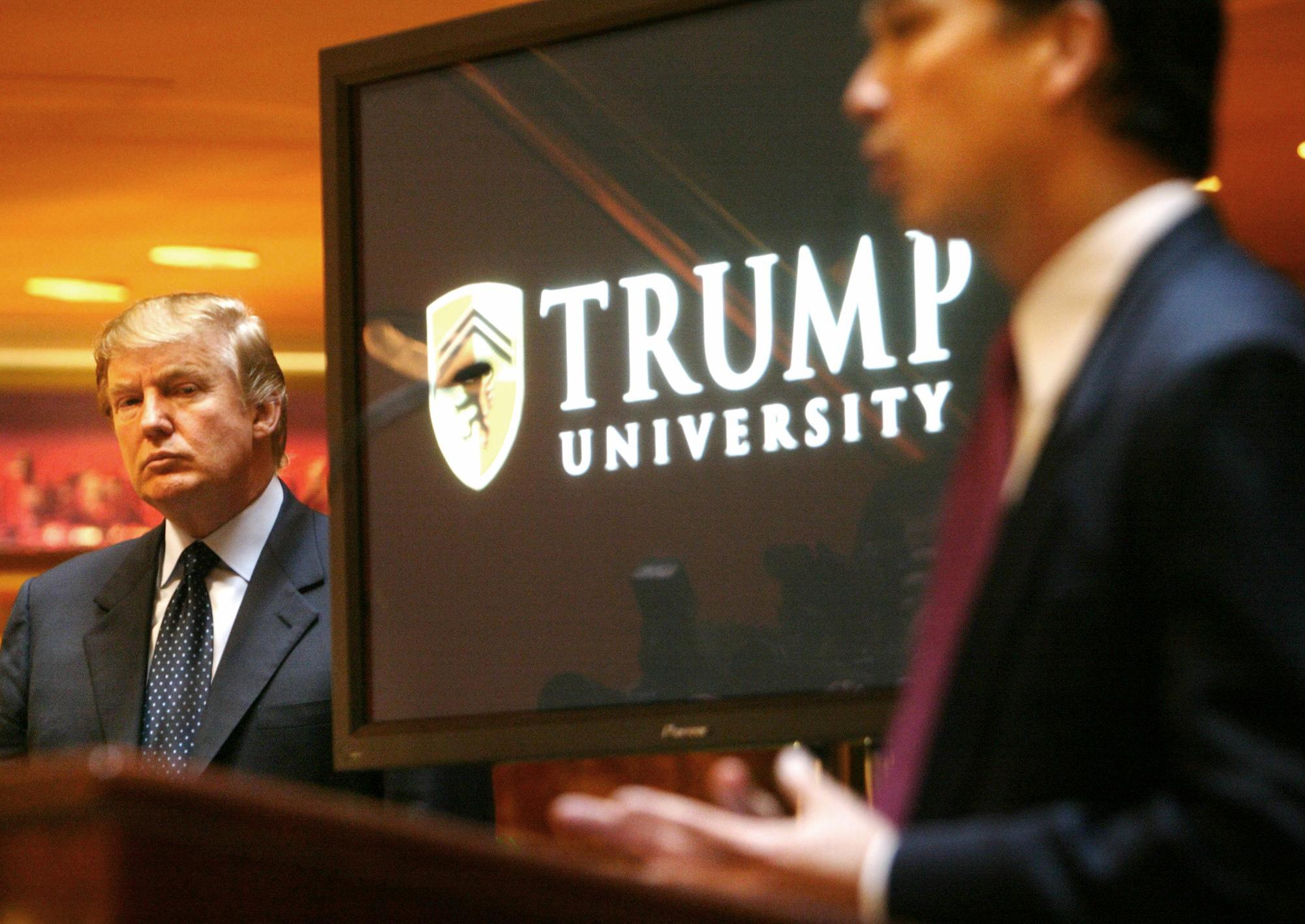 Donald Trump, Michael Sexton