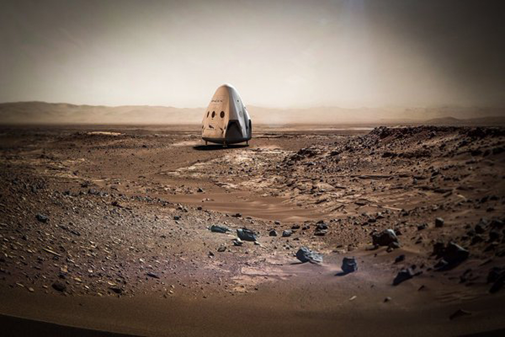 SpaceX-Mars
