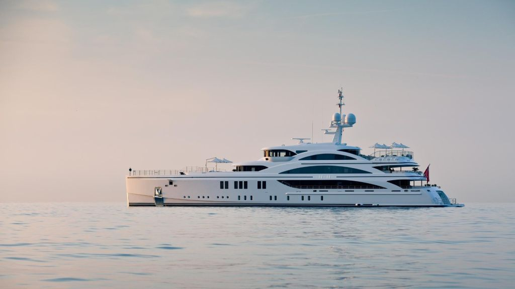 Benetti yacht