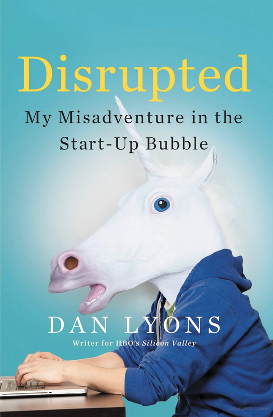 Disrupted by Dan Lyons book cover